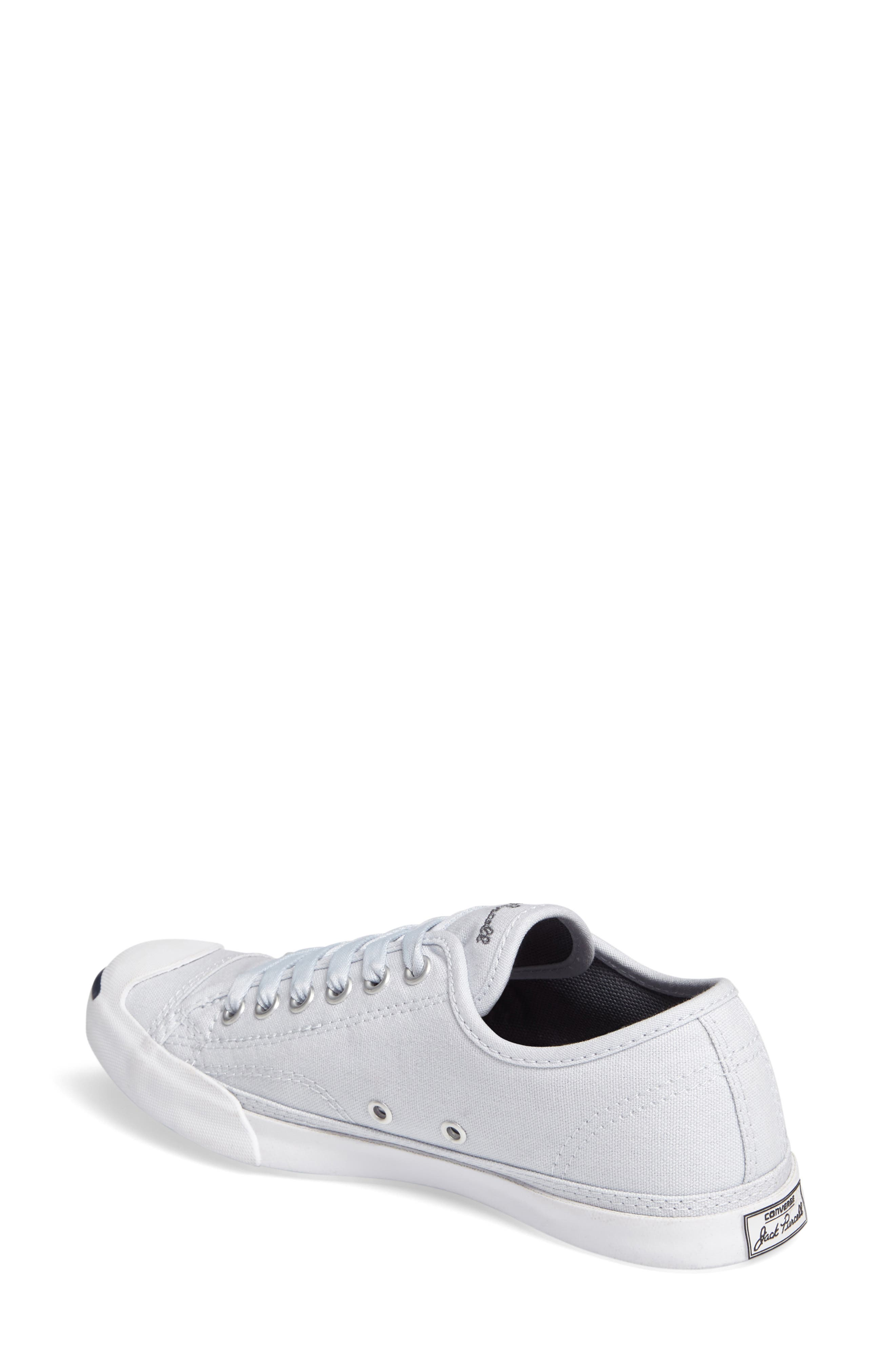 Jack Purcell Signature Ox Low Top Sneaker,                             Alternate thumbnail 2, color,                             Platinum