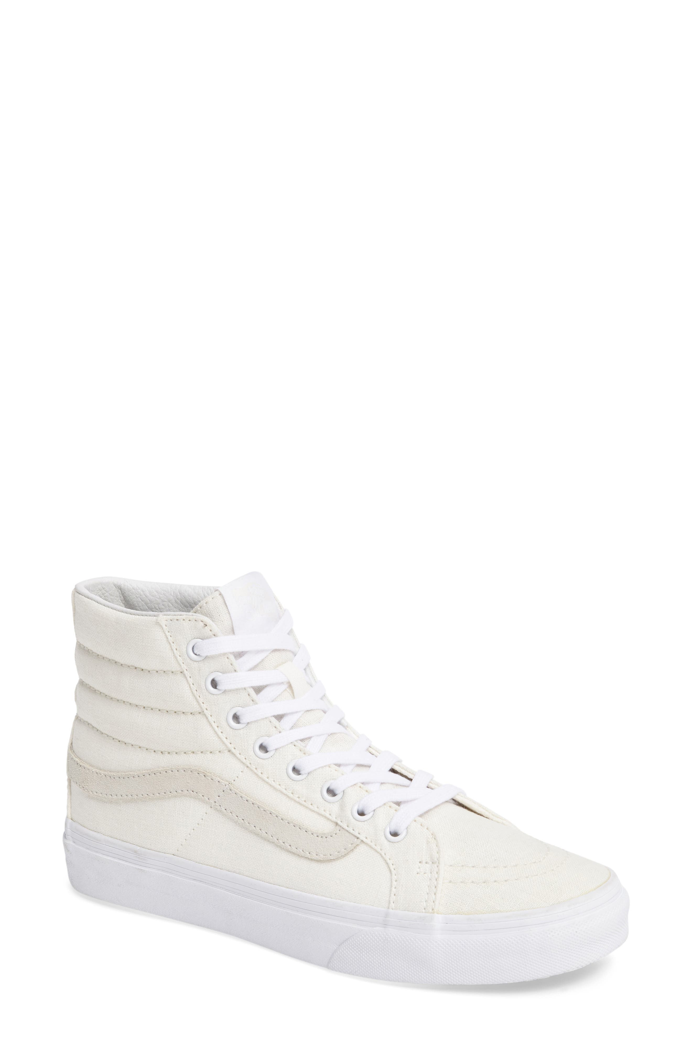 Alternate Image 1 Selected - Vans Sk8-Hi Slim Sneaker (Women)