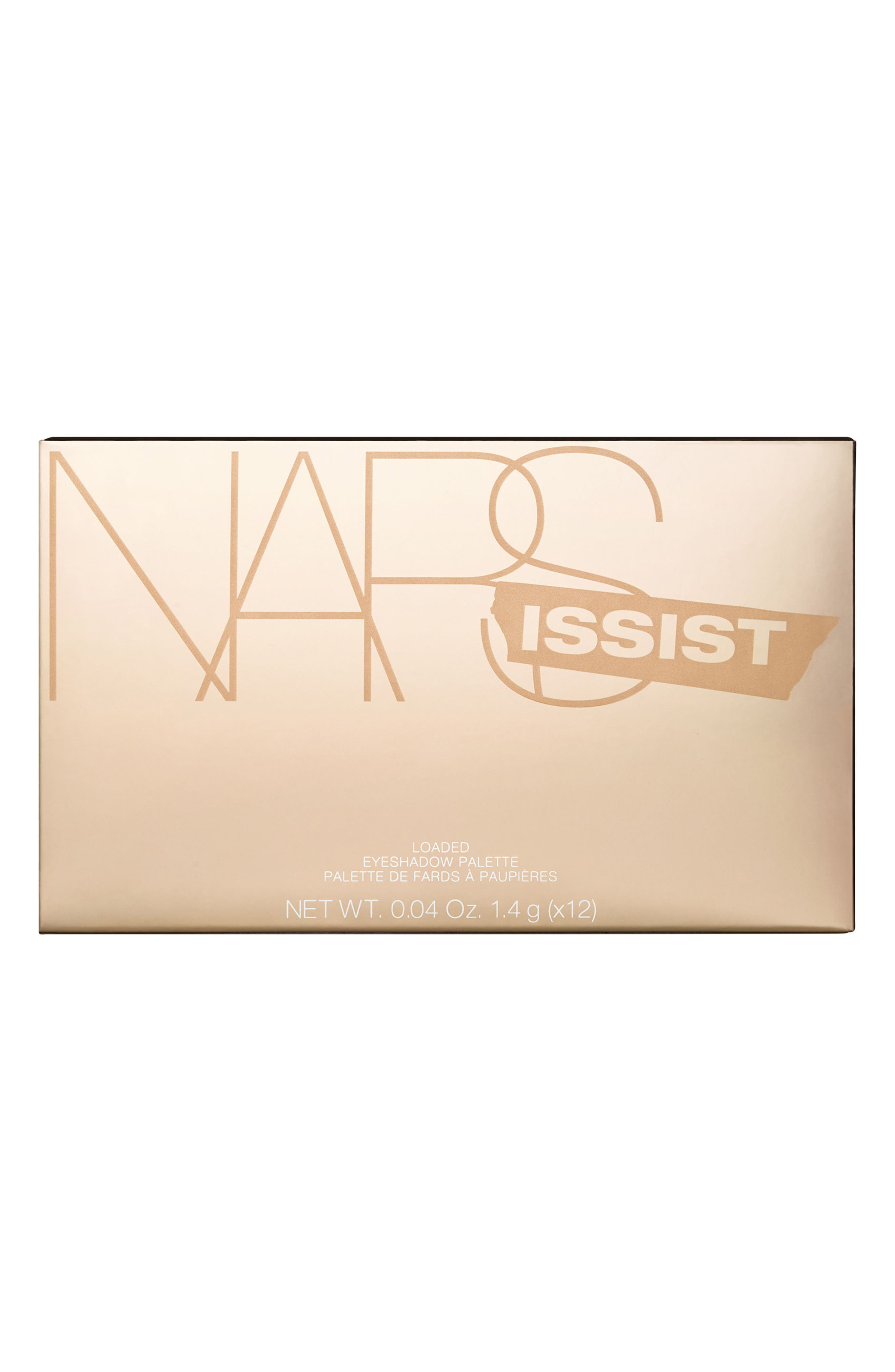 NARSissist Loaded Eyeshadow Palette,                             Alternate thumbnail 8, color,                             No Color