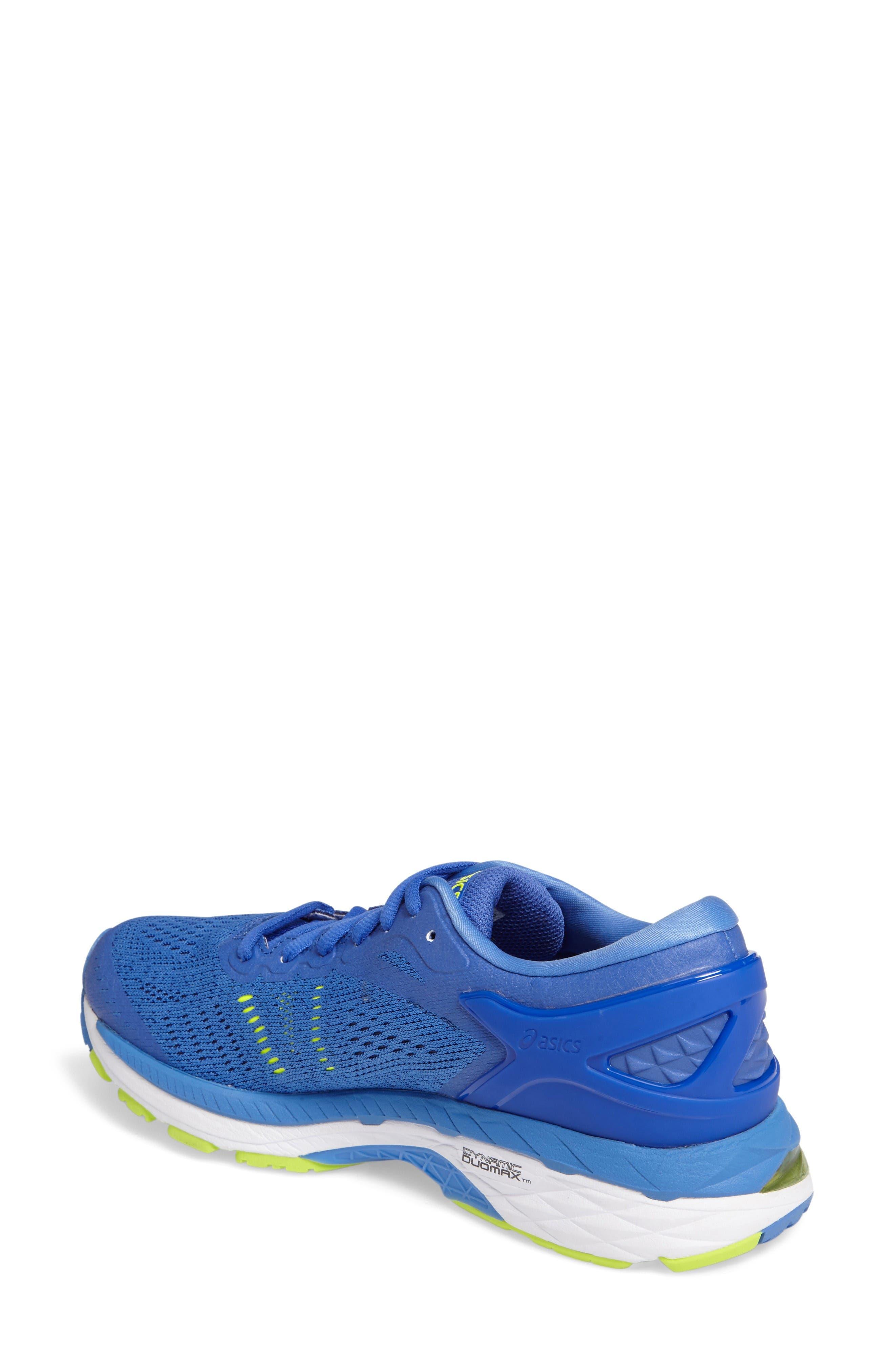 GEL-Kayano<sup>®</sup> 24 Running Shoe,                             Alternate thumbnail 2, color,                             Blue Purple/ Regatta/ White