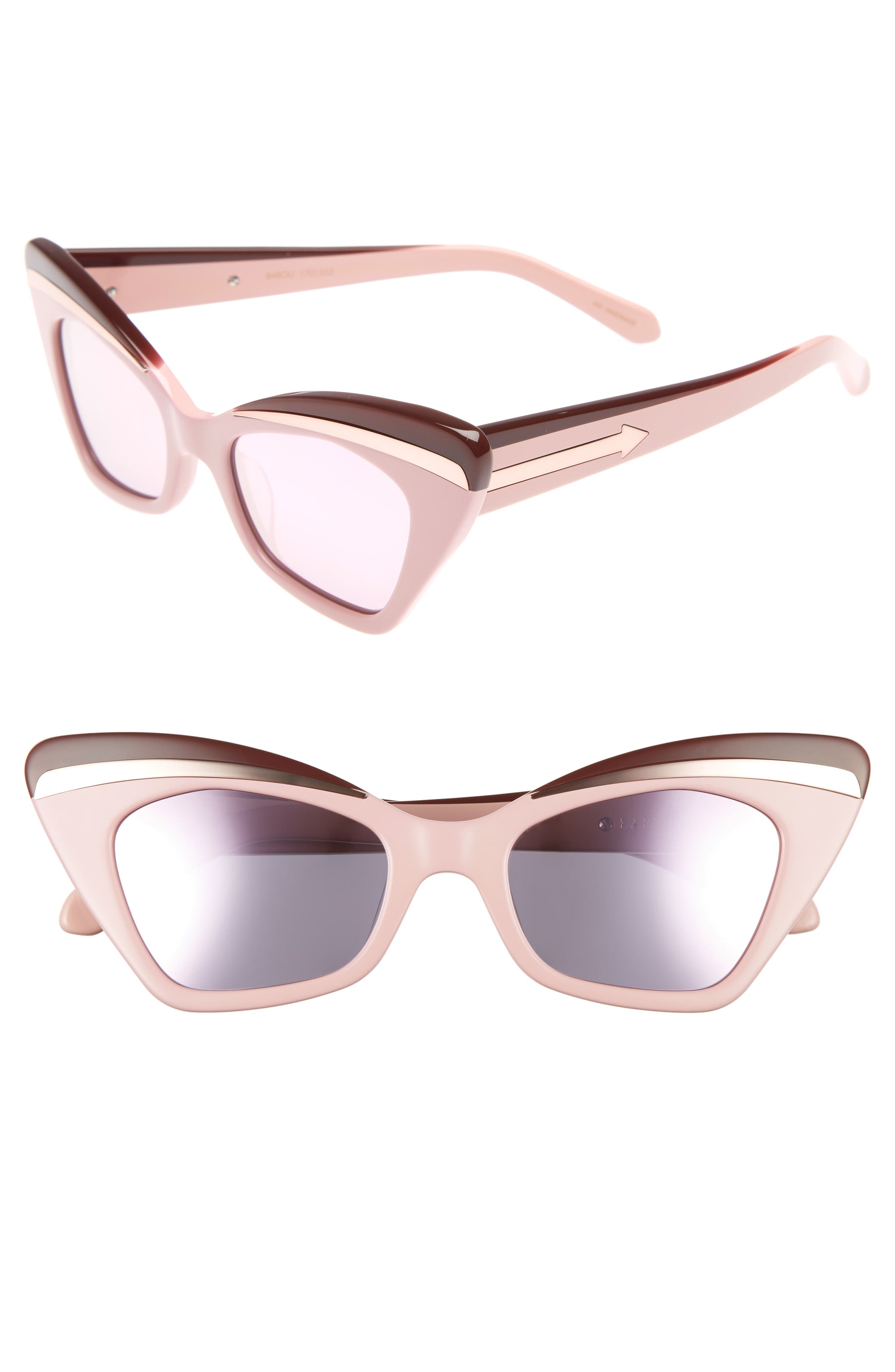 KAREN WALKER Babou 50mm Sunglasses