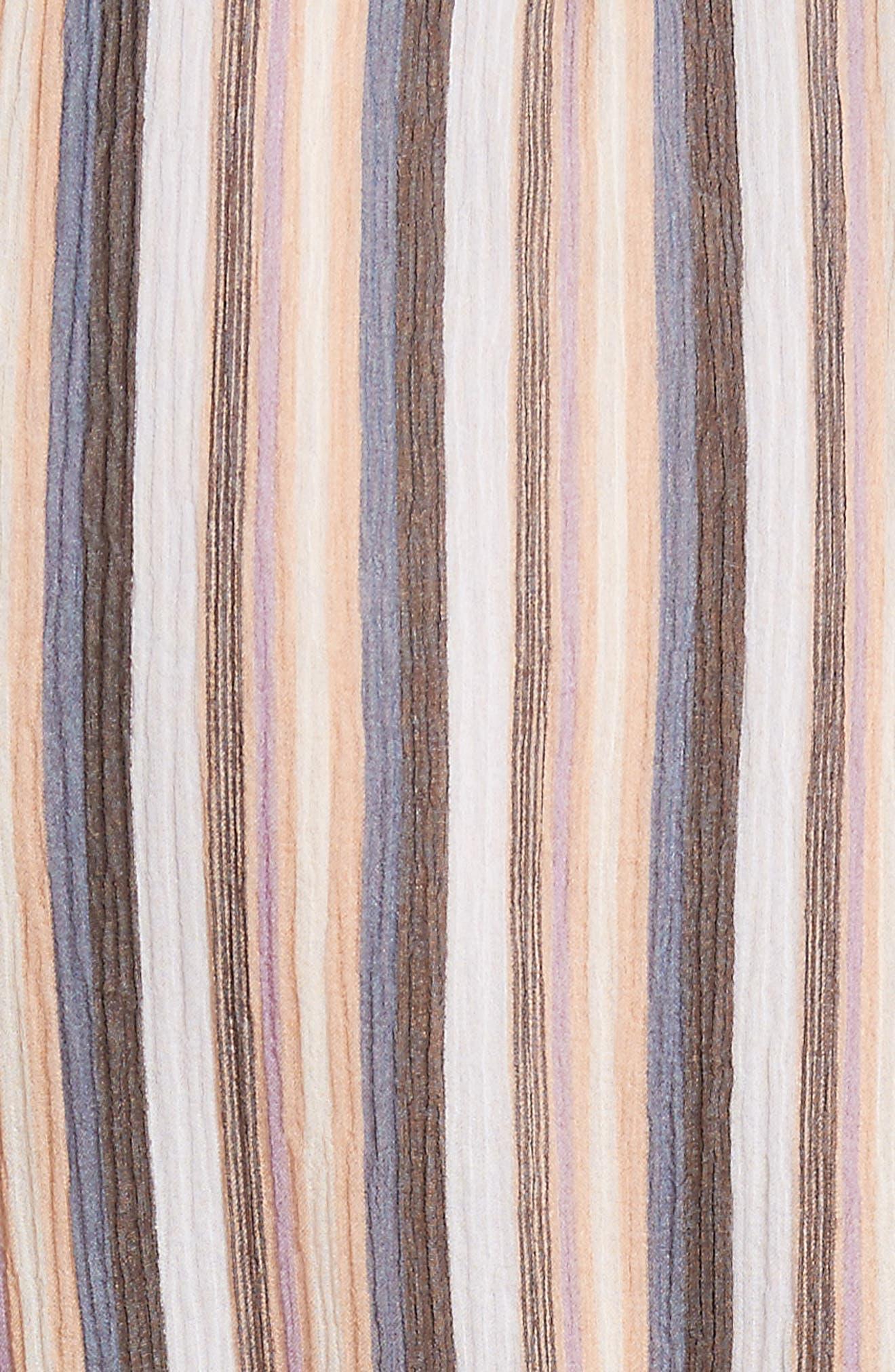 Alternate Image 5  - Derek Lam 10 Crosby Stripe Ruffle Dress