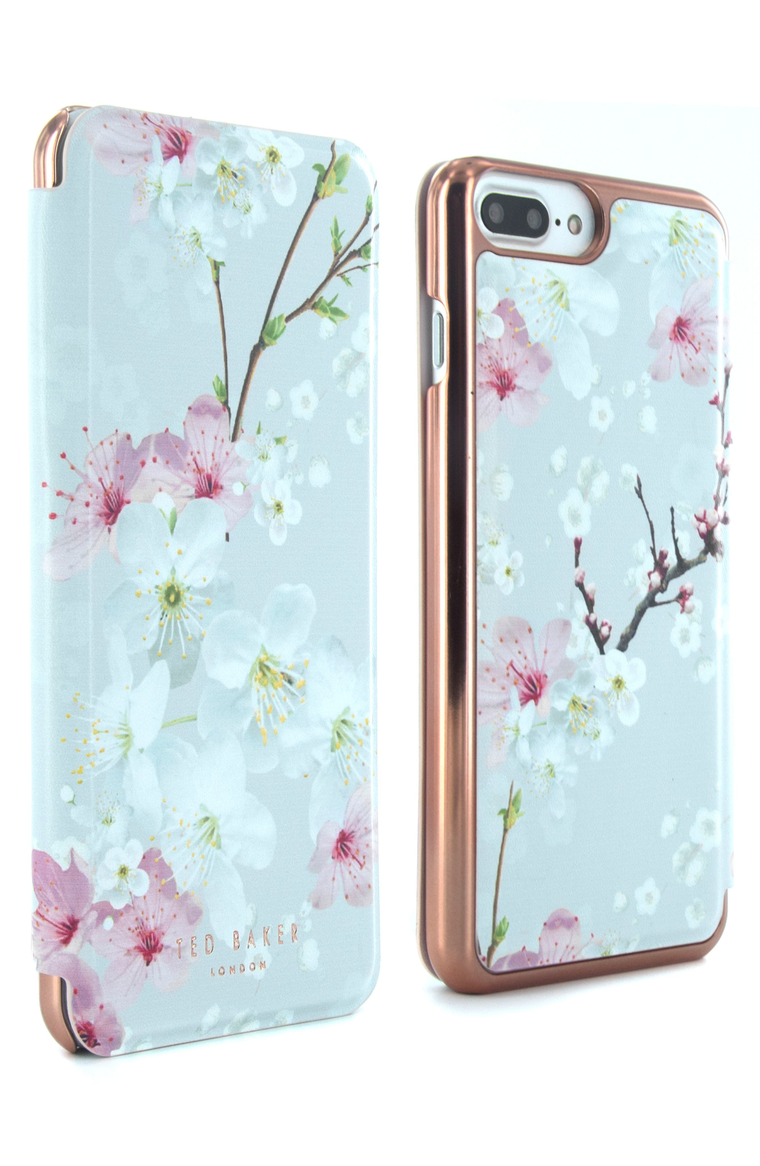 TED BAKER LONDON Mirror iPhone 6/7 Plus Folio Case