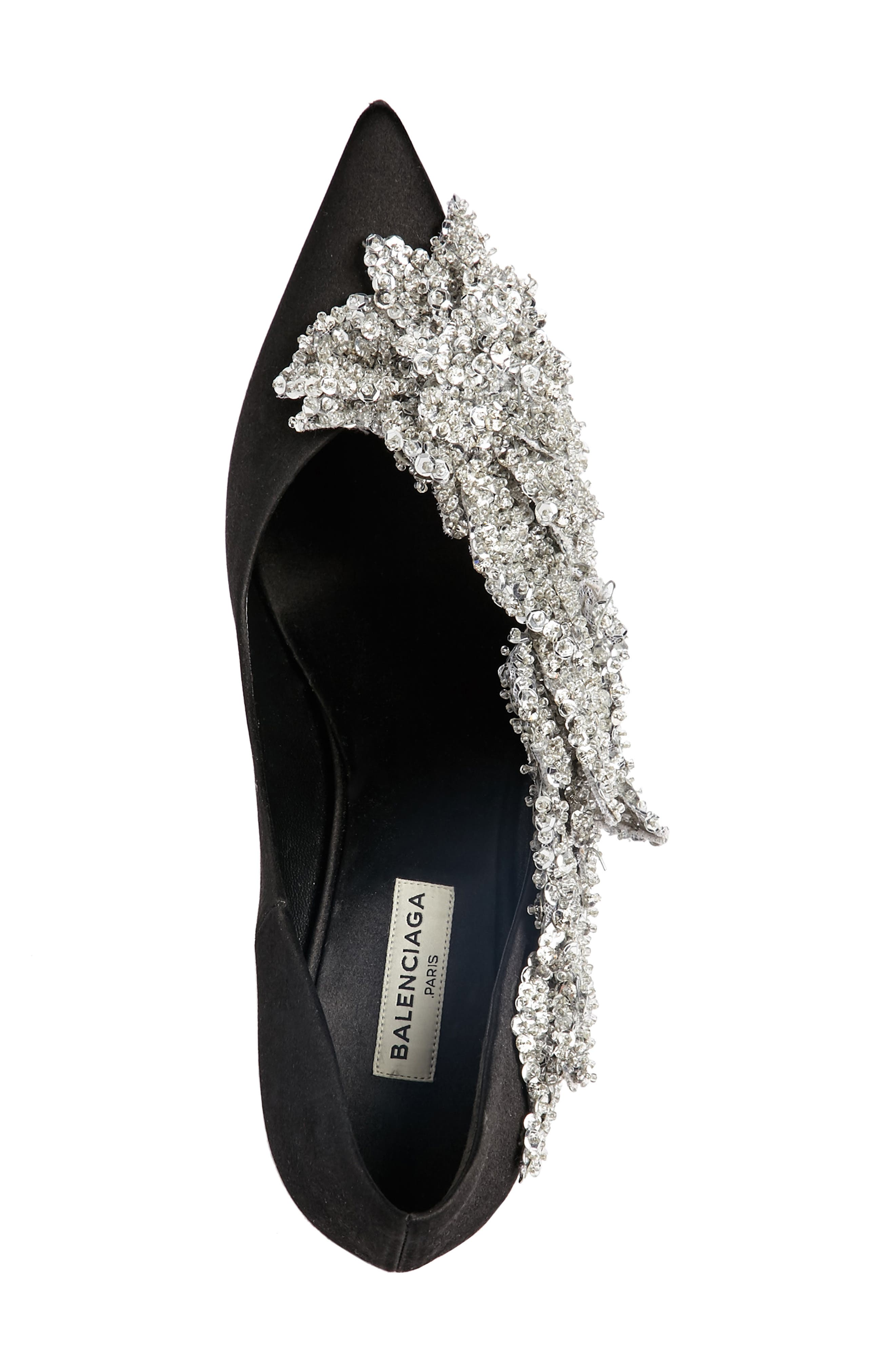 Alternate Image 3  - Balenciaga Embellished Pointy Toe Pump (Women)