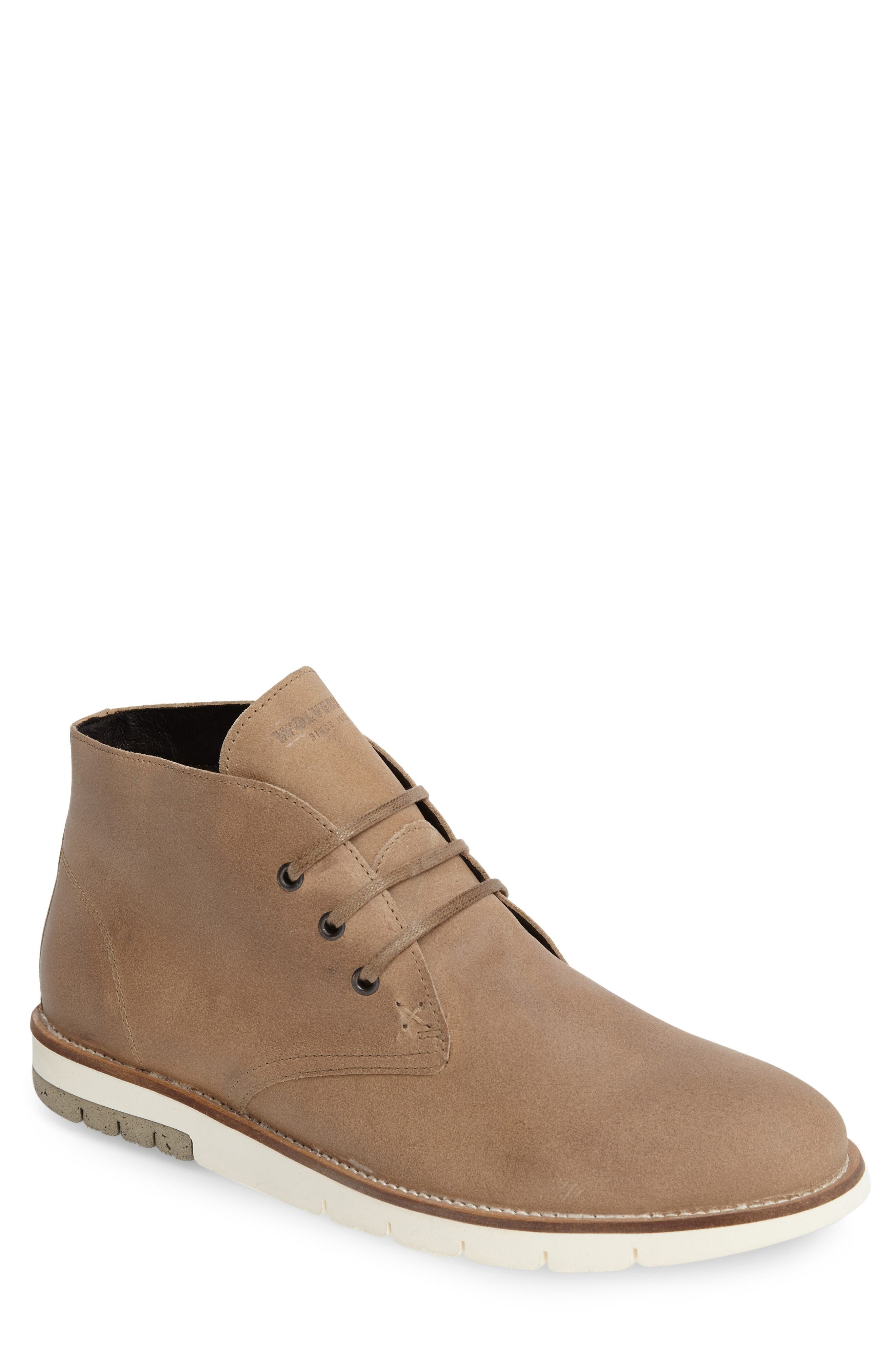 Gibson Chukka Boot,                         Main,                         color, Stone Suede