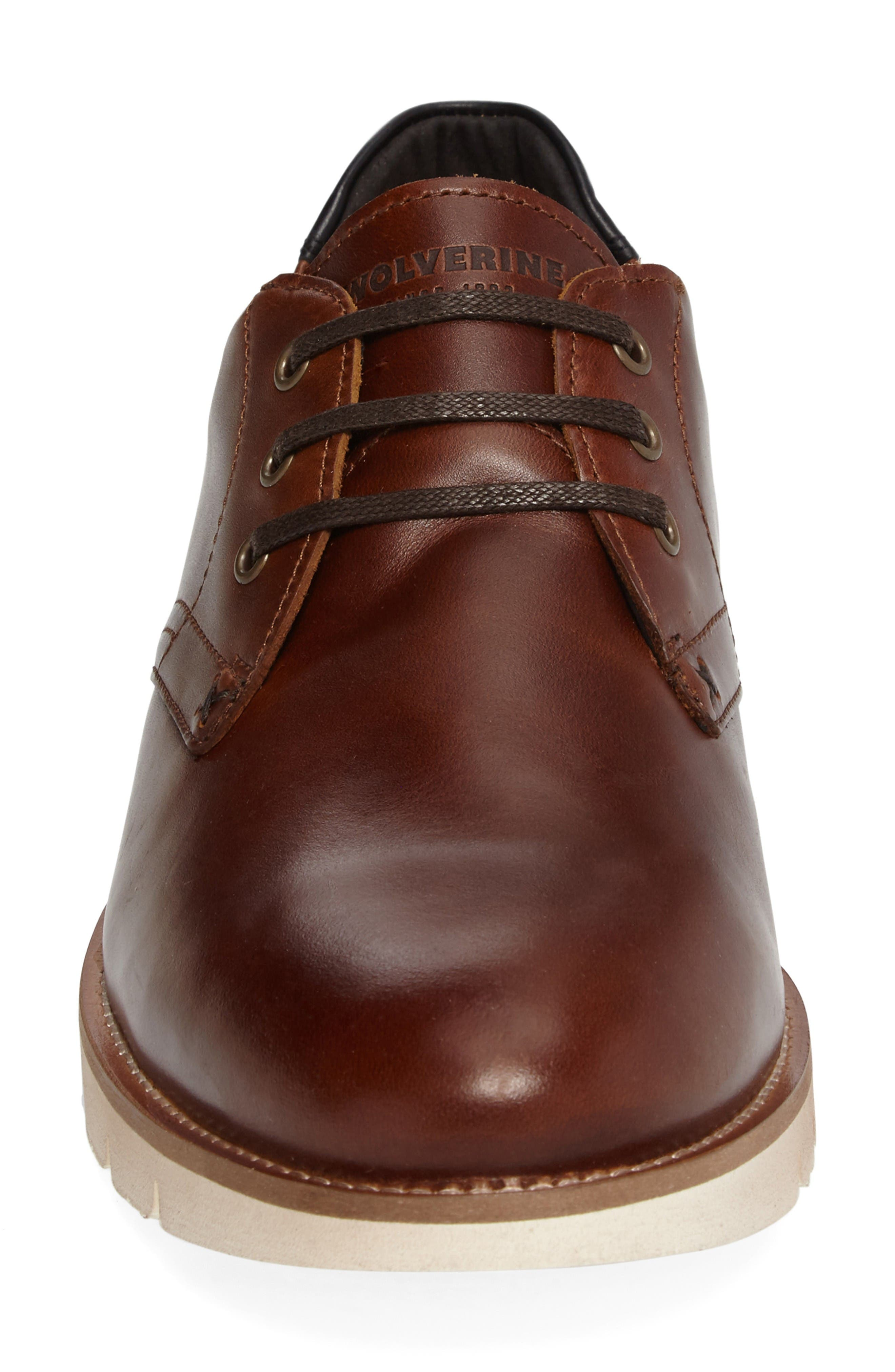 Alternate Image 4  - Wolverine Reuben Plain Toe Derby (Men)