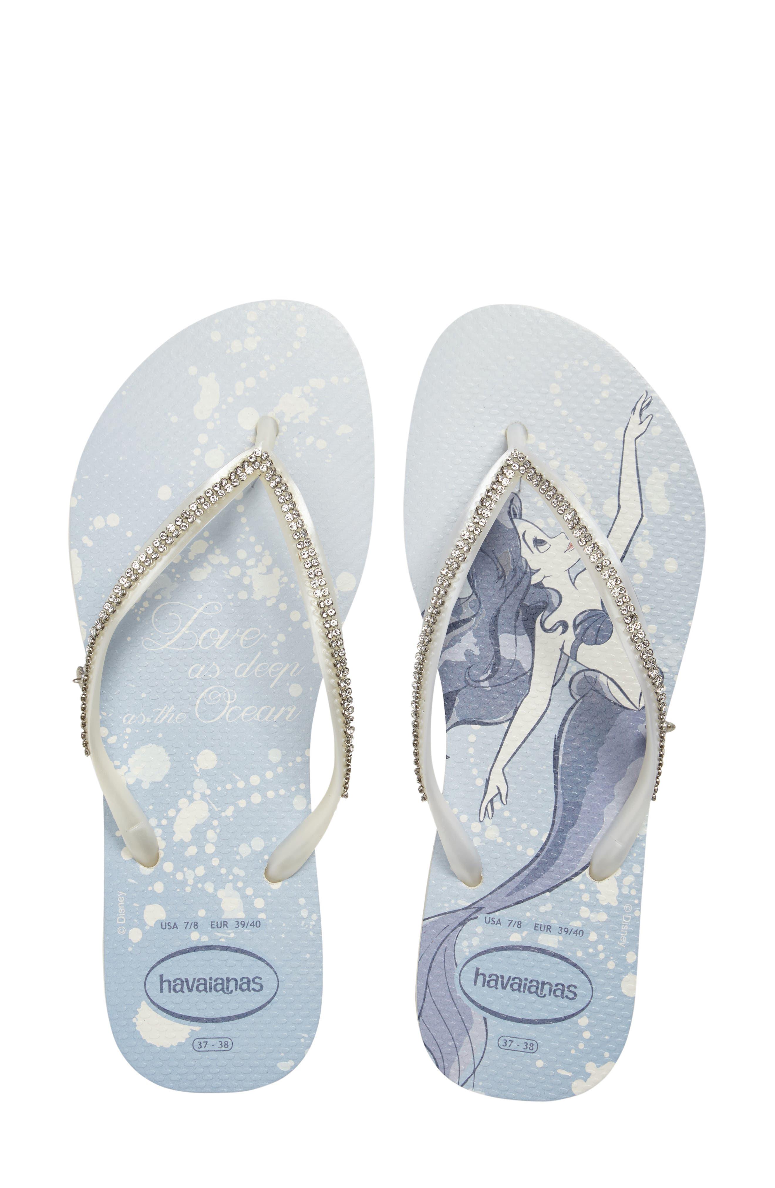Havaianas Slim Disney Princess Crystal Flip Flop (Women)