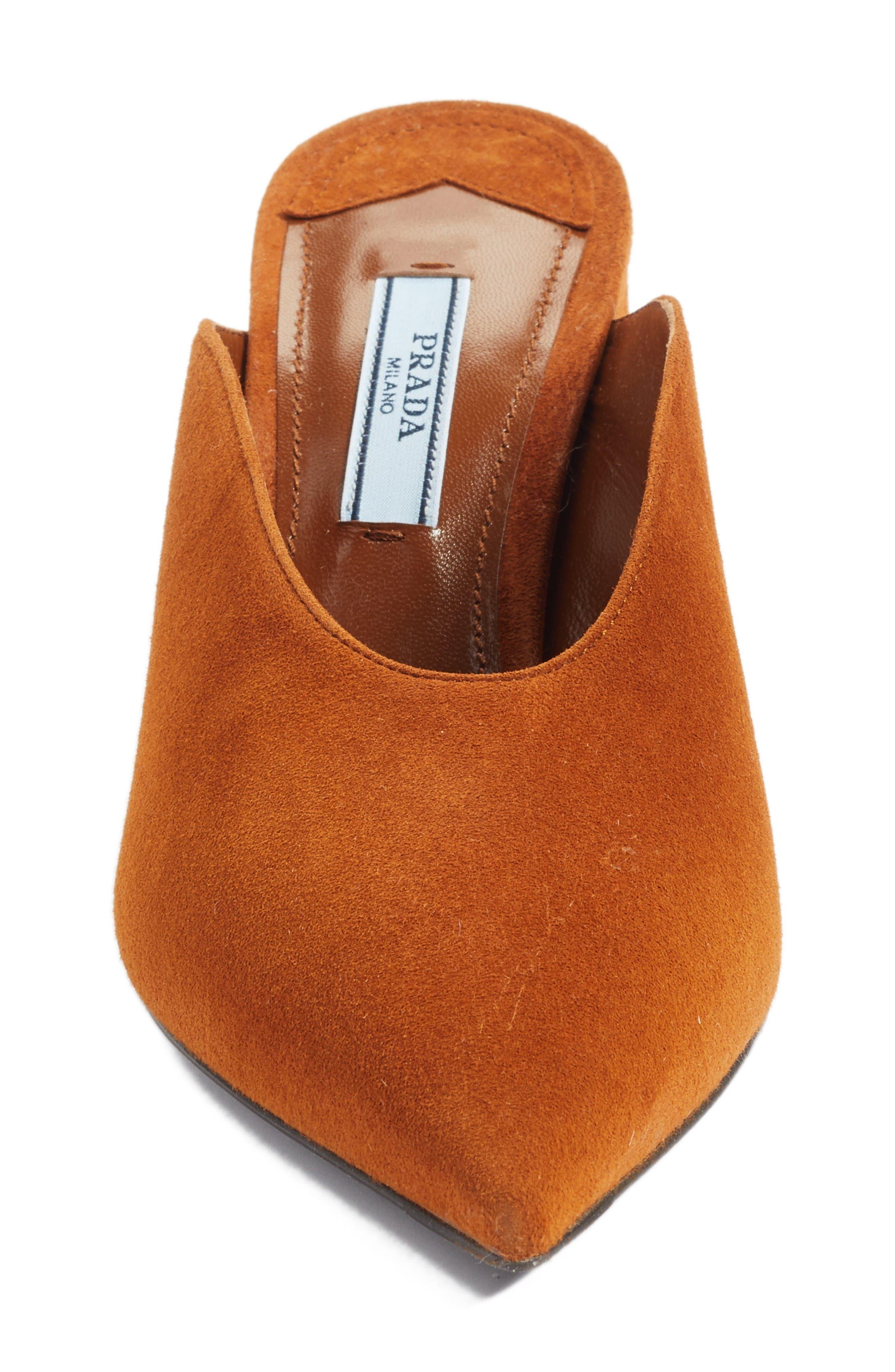 Alternate Image 4  - Prada Slant Heel Mule (Women)