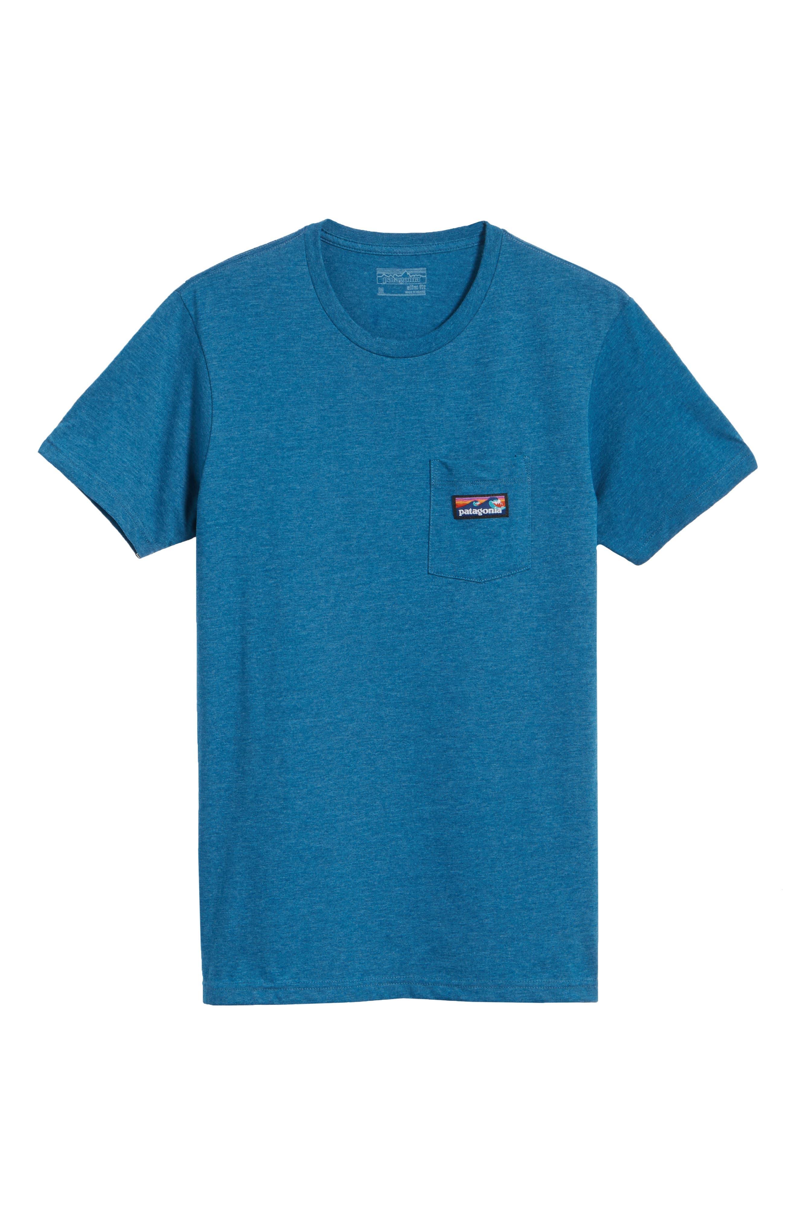 Alternate Image 5  - Patagonia Board Short Label T-Shirt