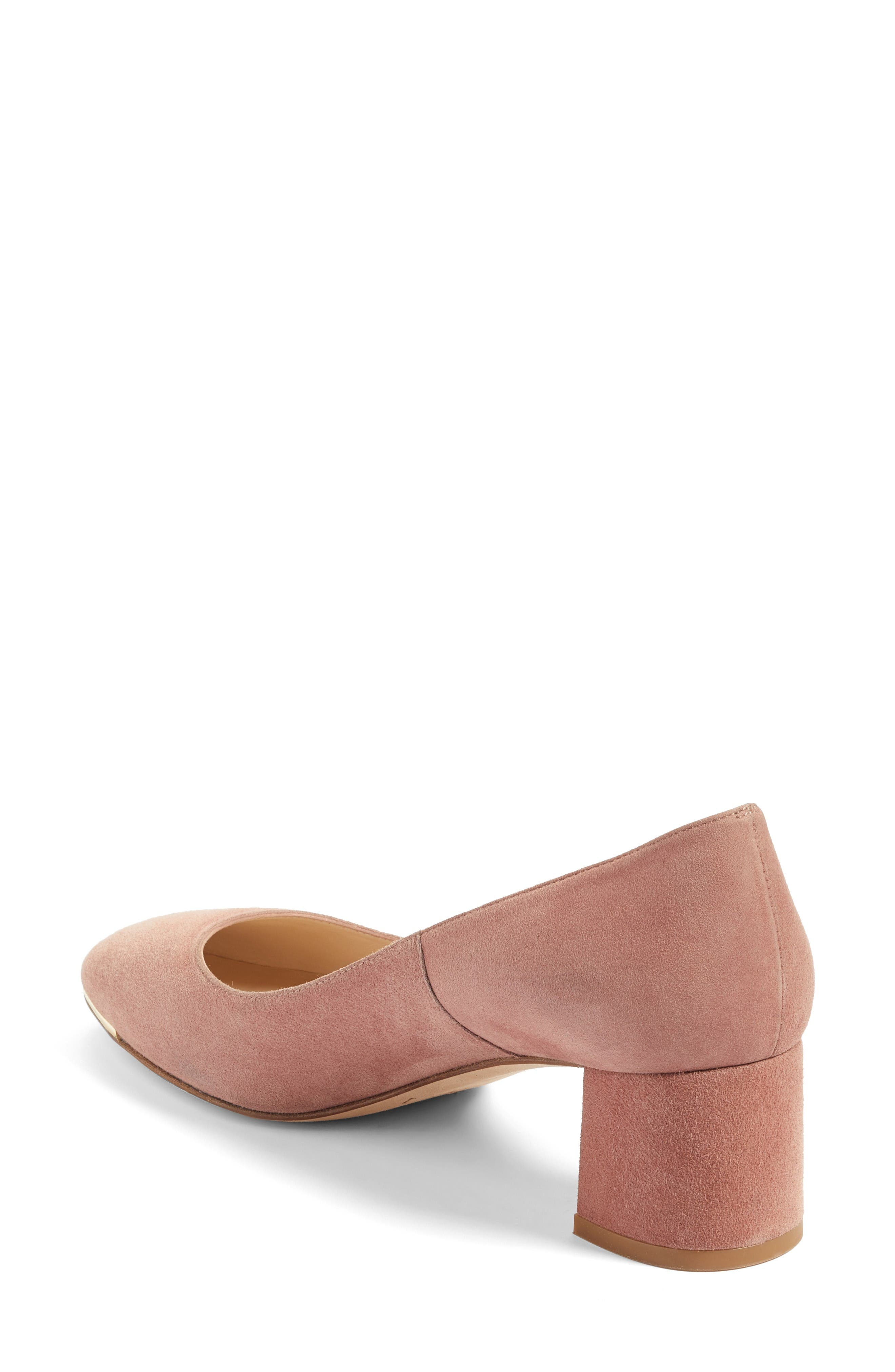 Clemence Pump,                             Alternate thumbnail 2, color,                             Pink/ Dark Pink