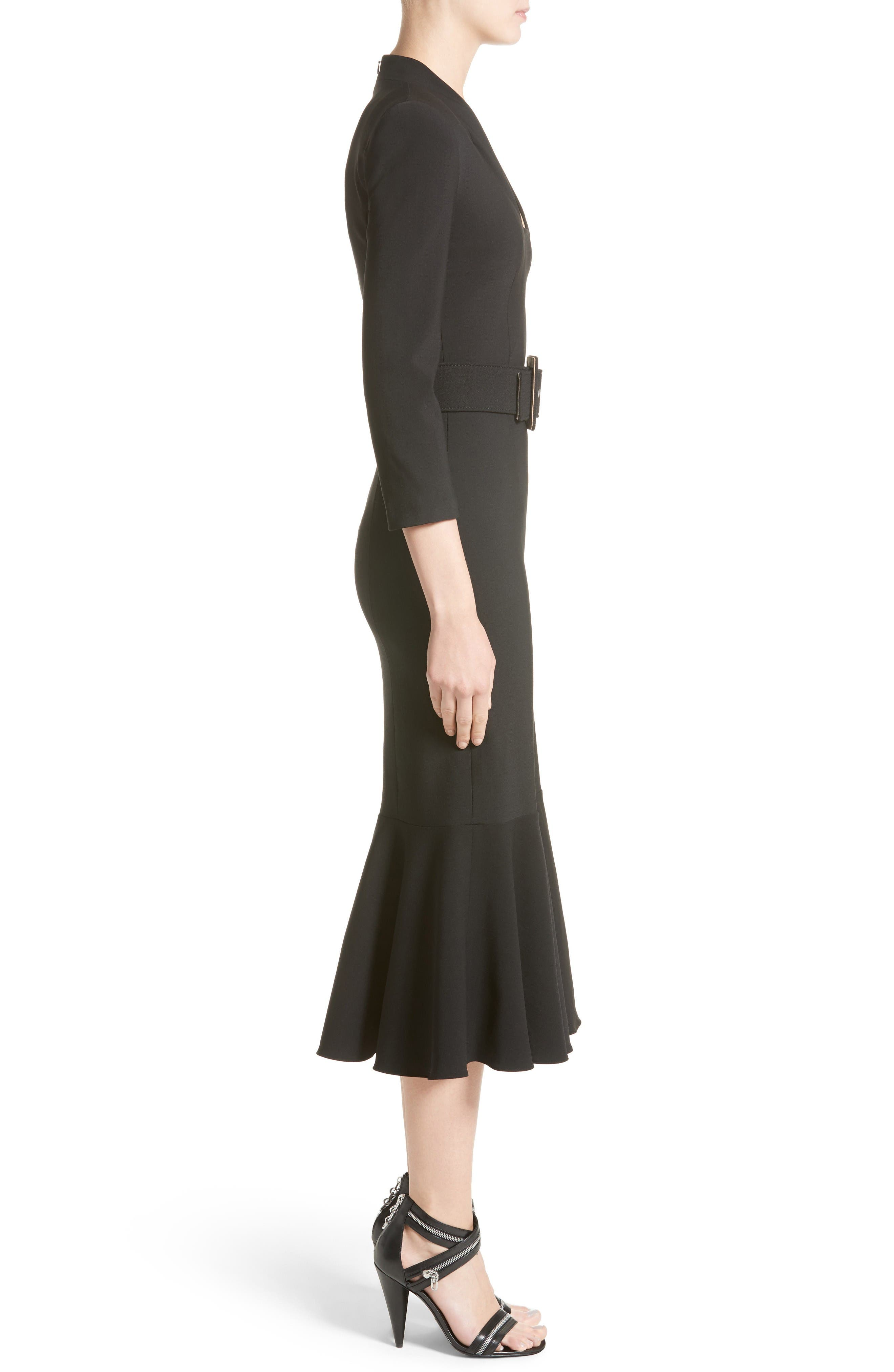 Alternate Image 5  - Michael Kors Stretch Pebble Crepe Bolero Sheath Dress