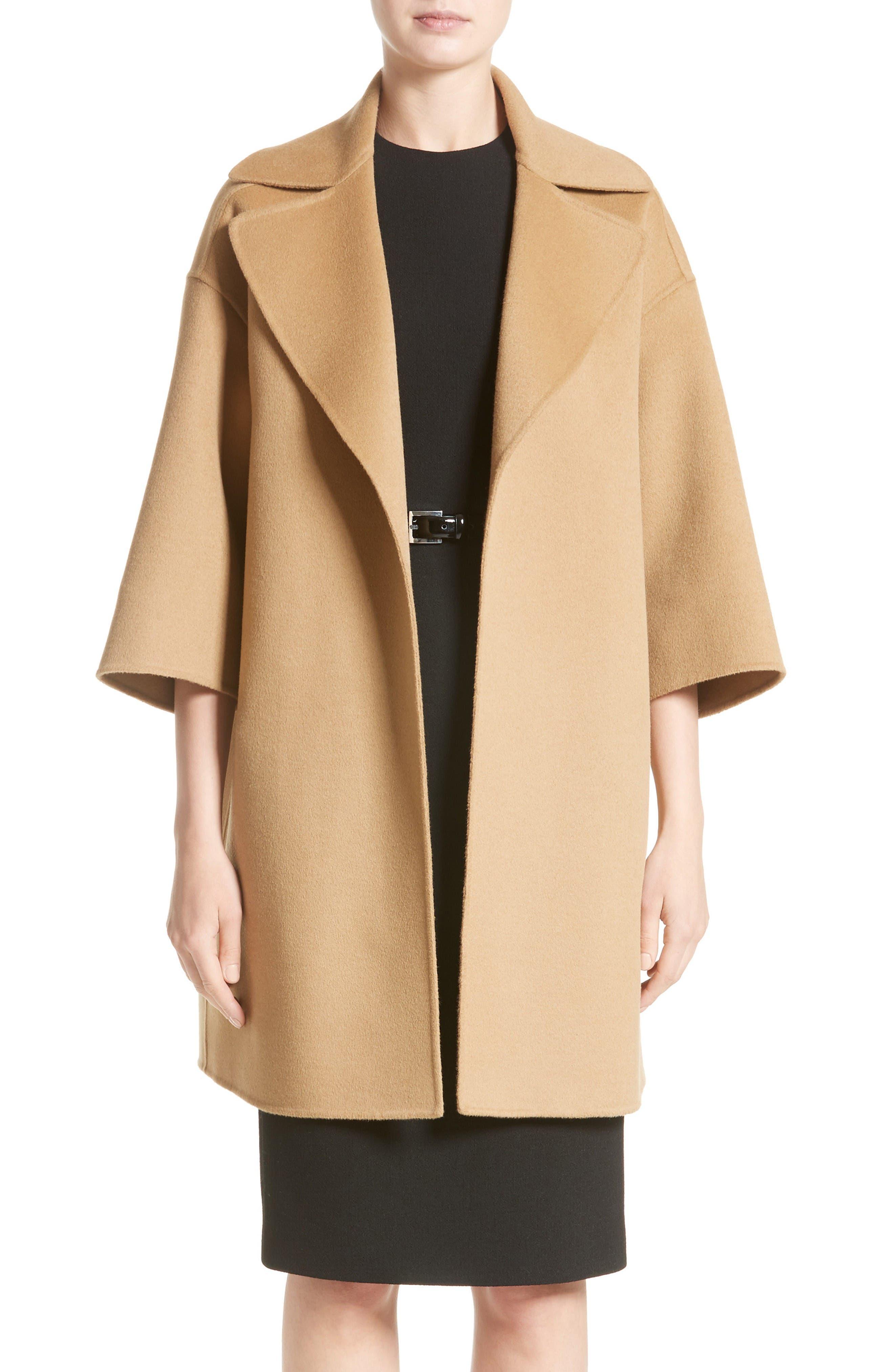 Alternate Image 1 Selected - Michael Kors Wool Blend Coat