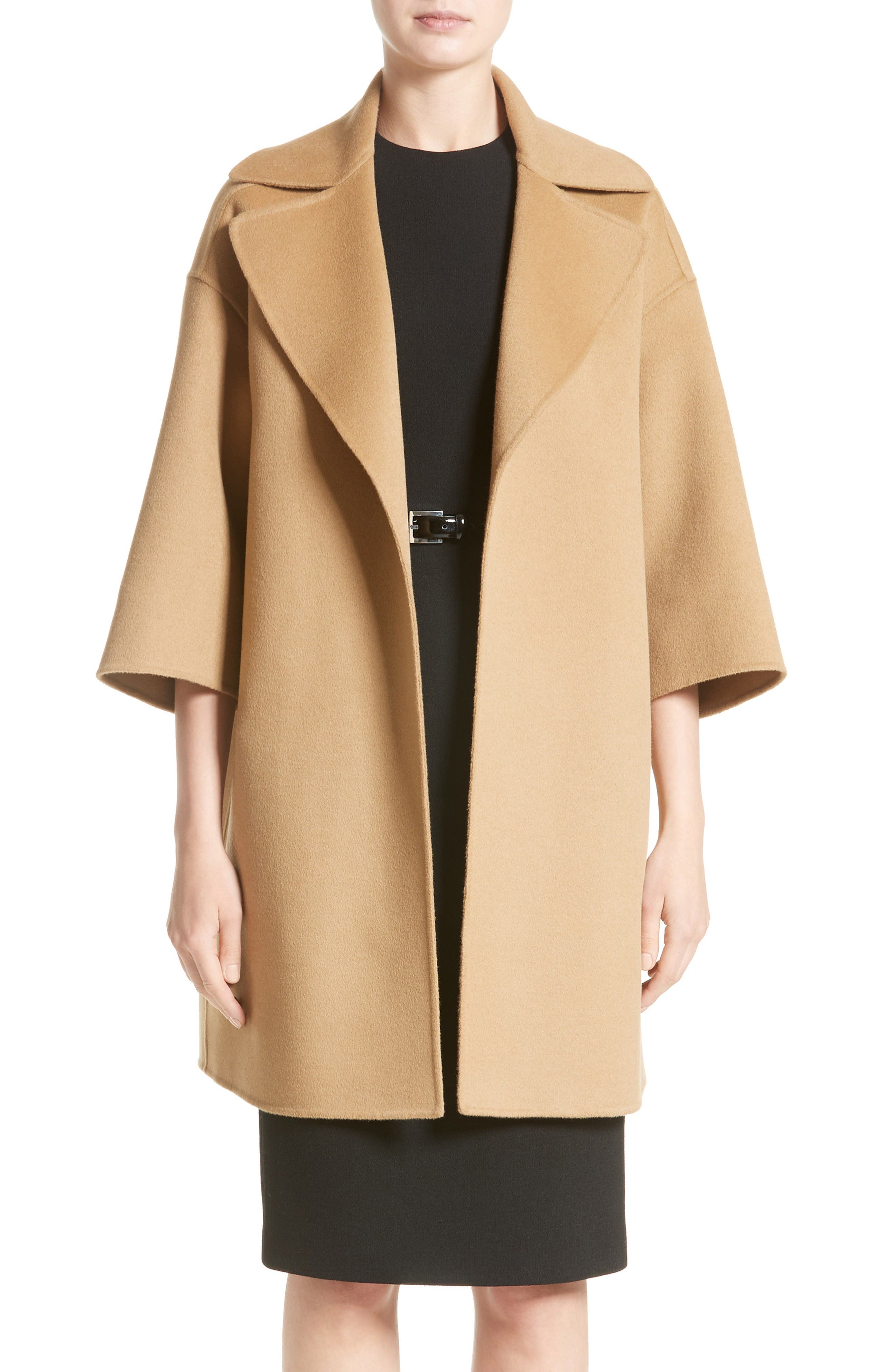 Wool Blend Coat,                         Main,                         color, Chino