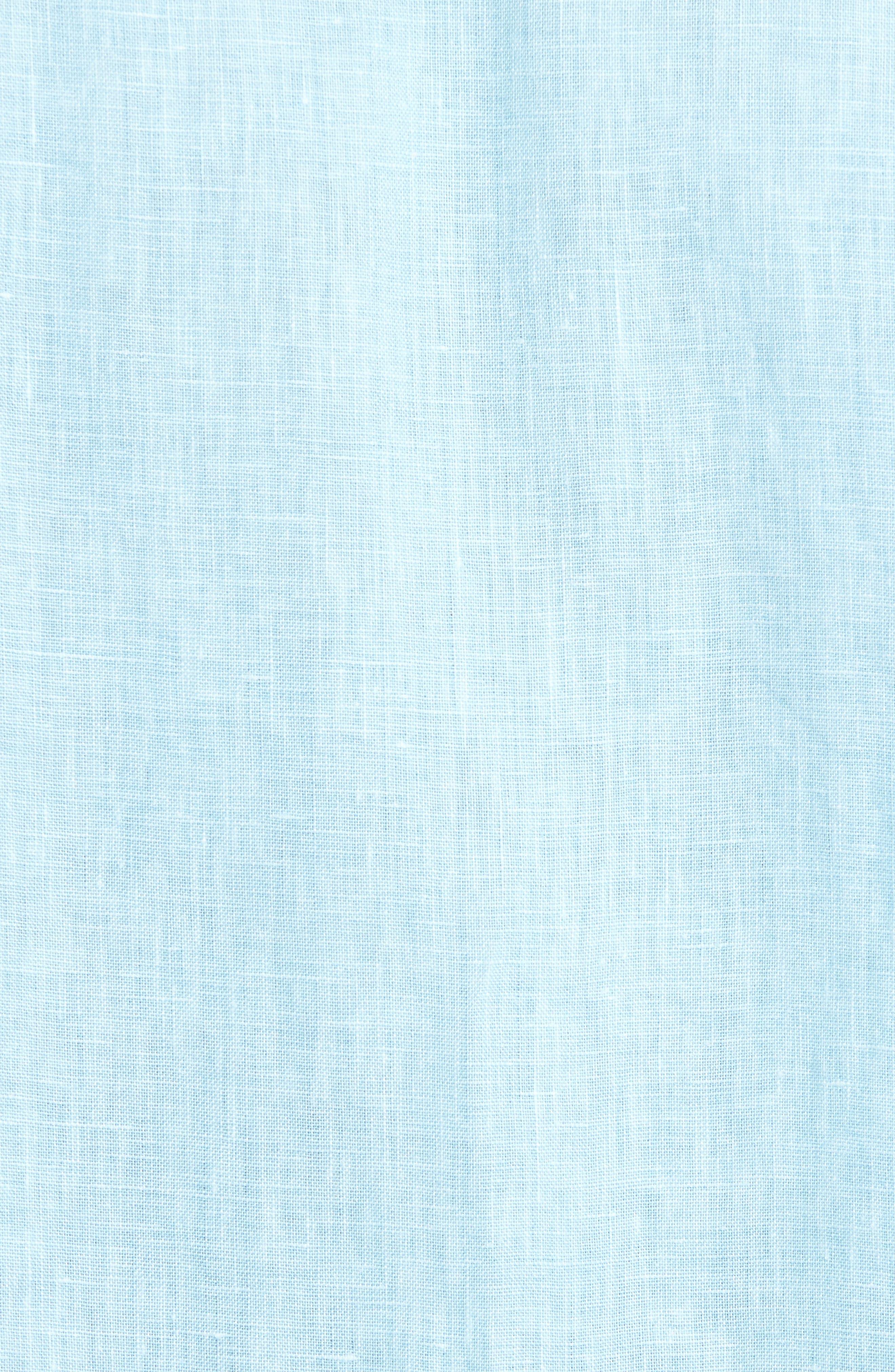 Alternate Image 5  - Tommy Bahama Seaglass Breezer Short Sleeve Linen Sport Shirt