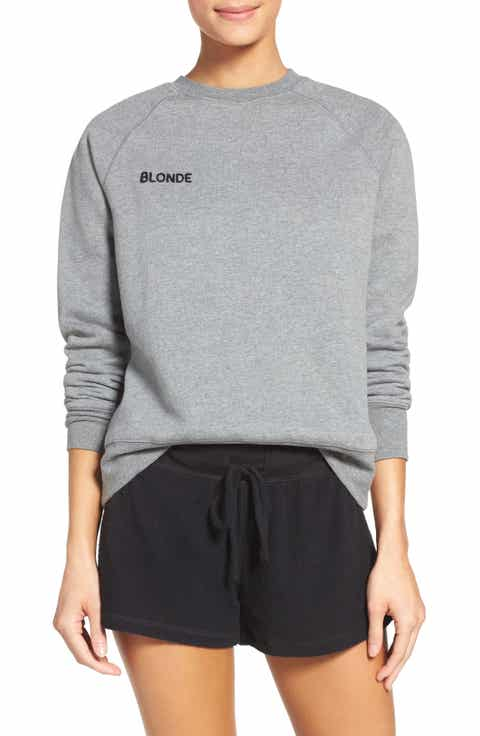 BRUNETTE the Label Blonde Crewneck Sweatshirt