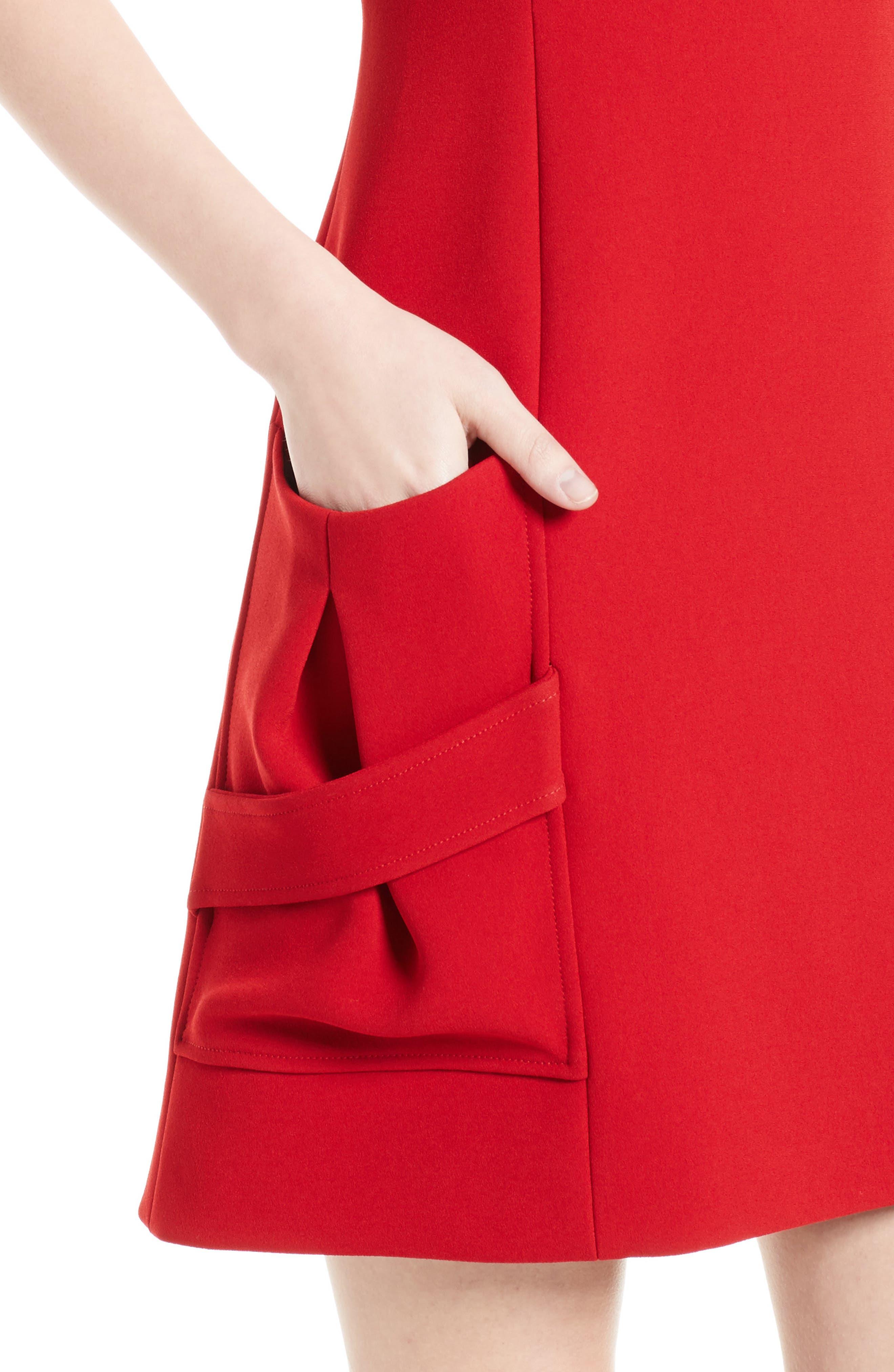 Alternate Image 6  - Victoria Beckham Crepe Minidress