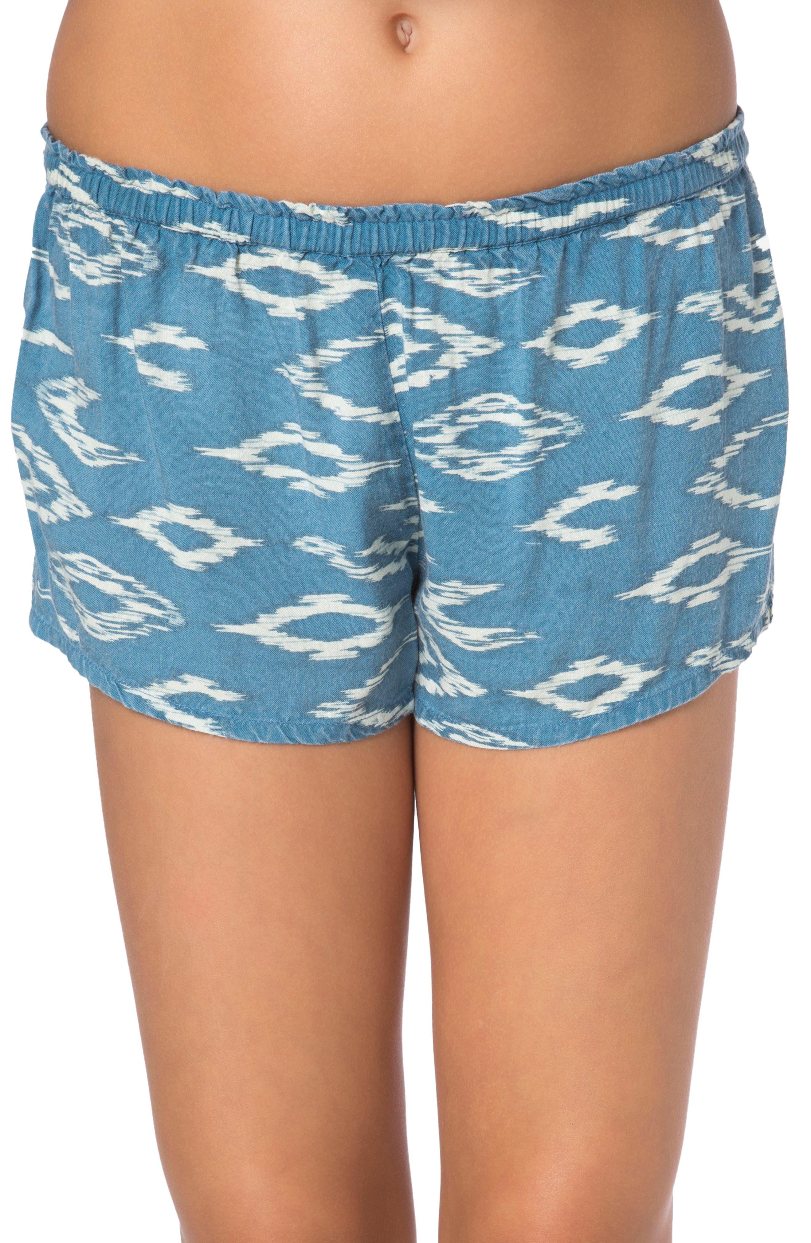 Sonnie Shorts,                         Main,                         color, Bluestone