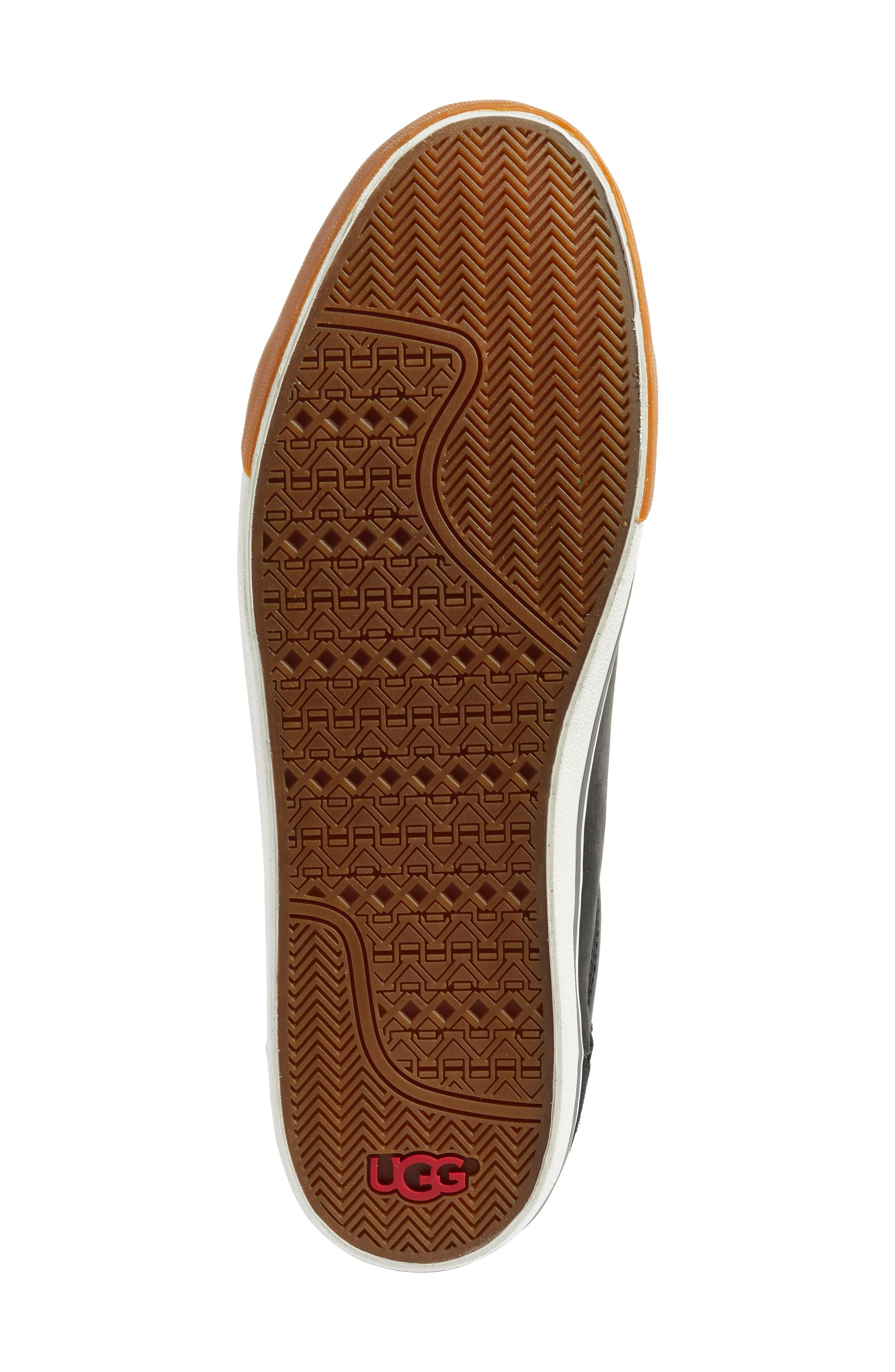 Brock Sneaker,                             Alternate thumbnail 6, color,                             Black