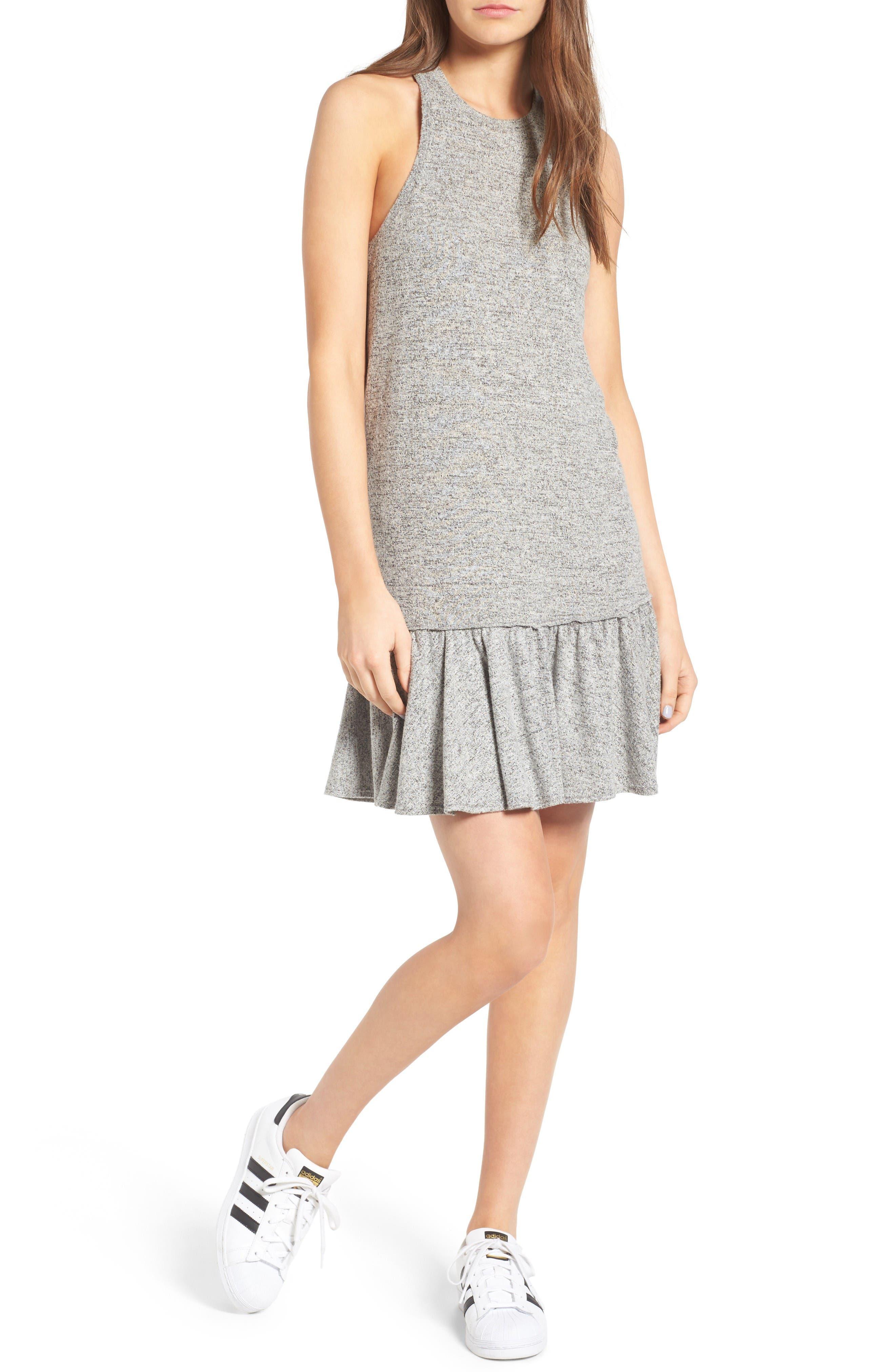 McGuire Le Club Knit Drop Waist Dress