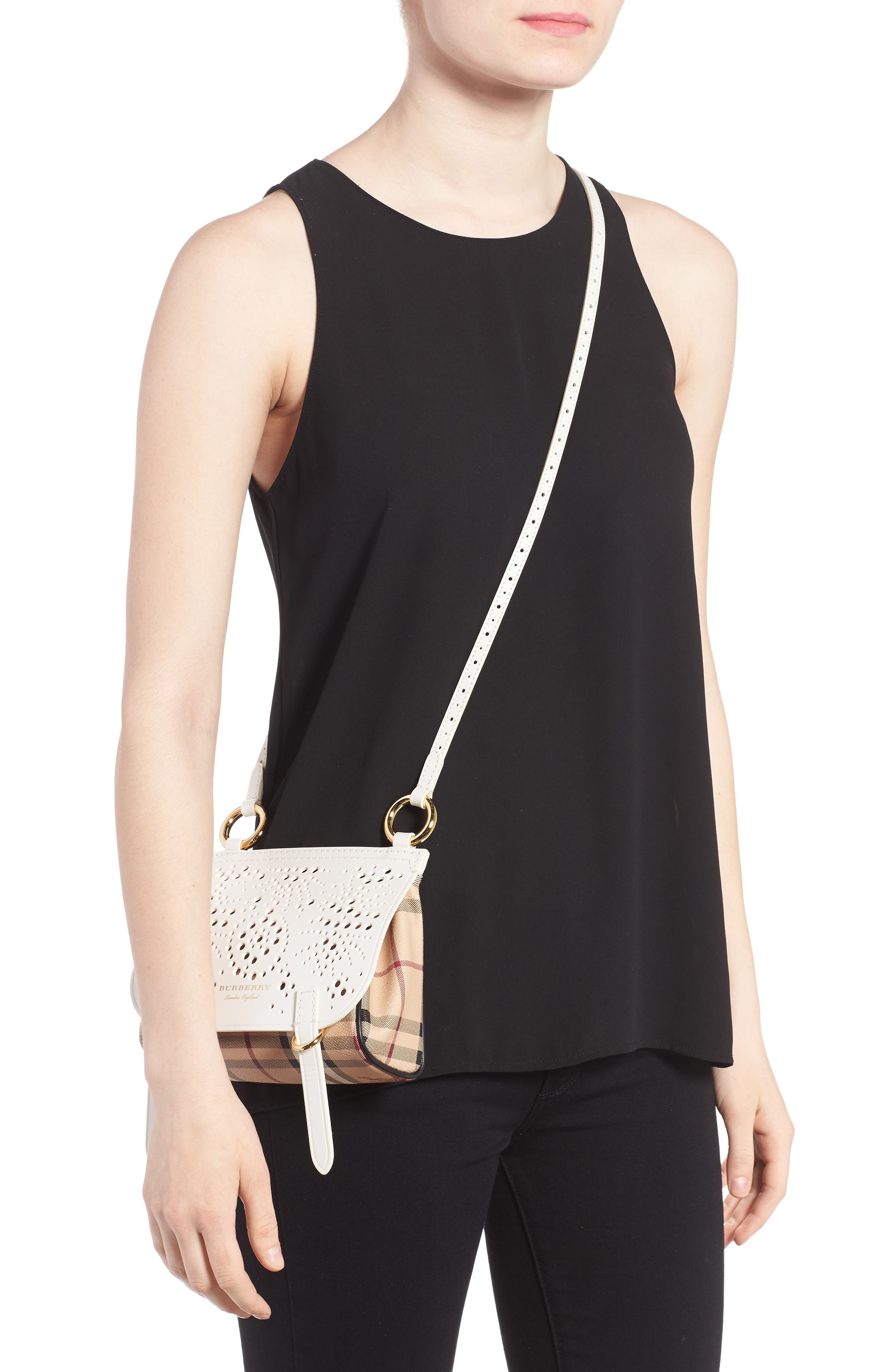 Alternate Image 2  - Burberry Baby Bridle Crossbody Bag