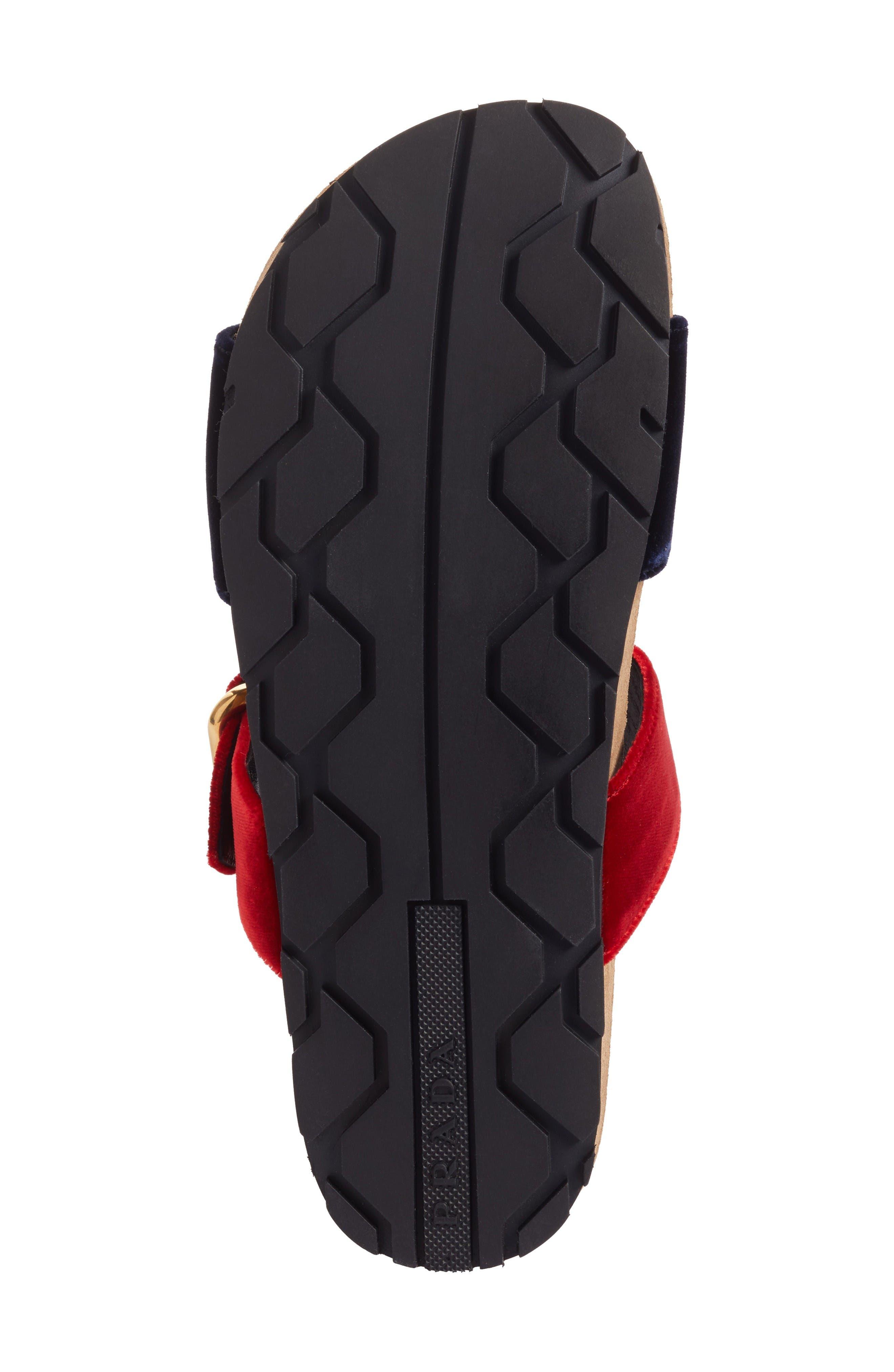 Alternate Image 6  - Prada Double Band Slide Sandal (Women)