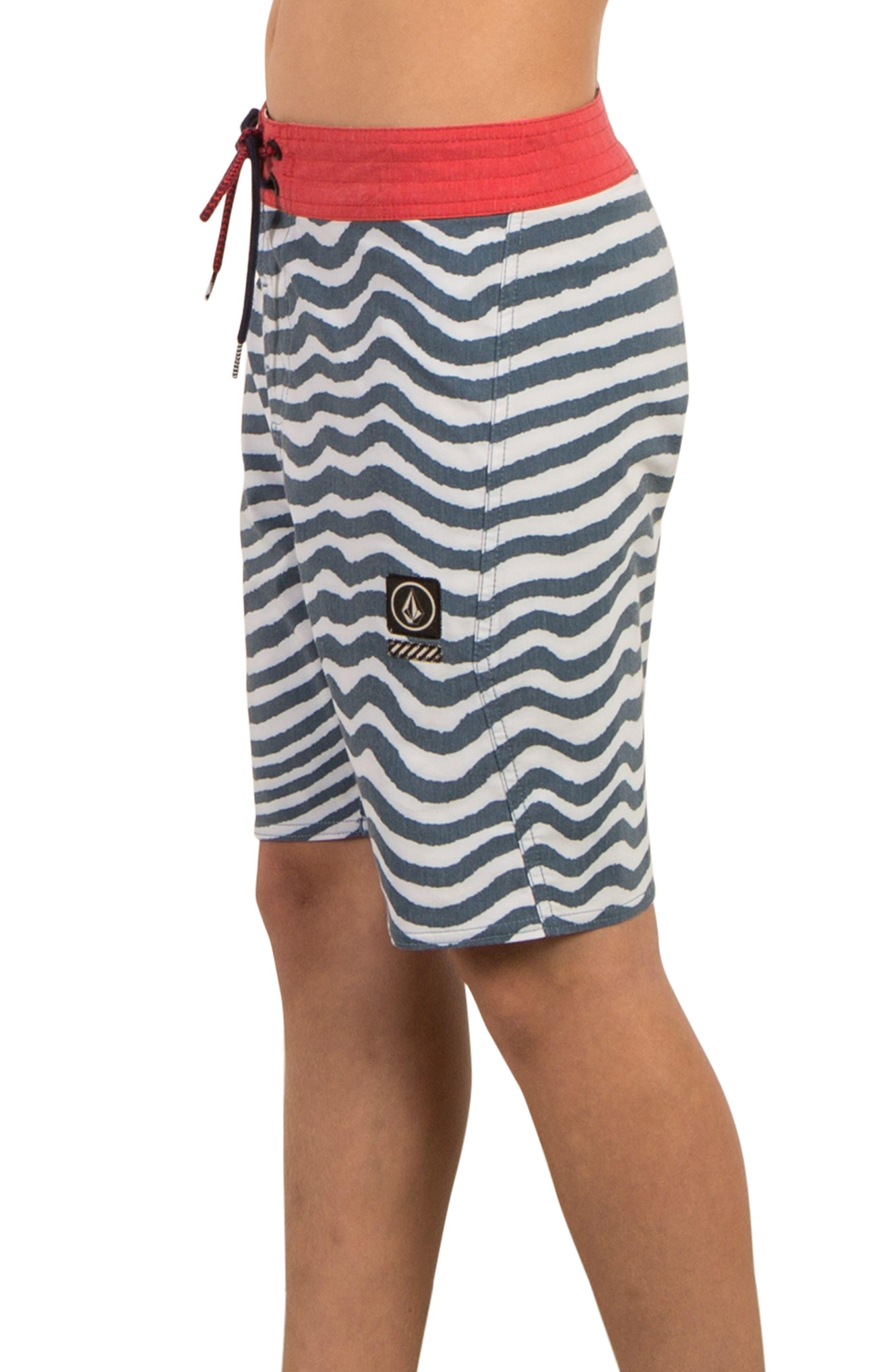 Mag Vibes Board Shorts,                             Alternate thumbnail 3, color,                             Indigo