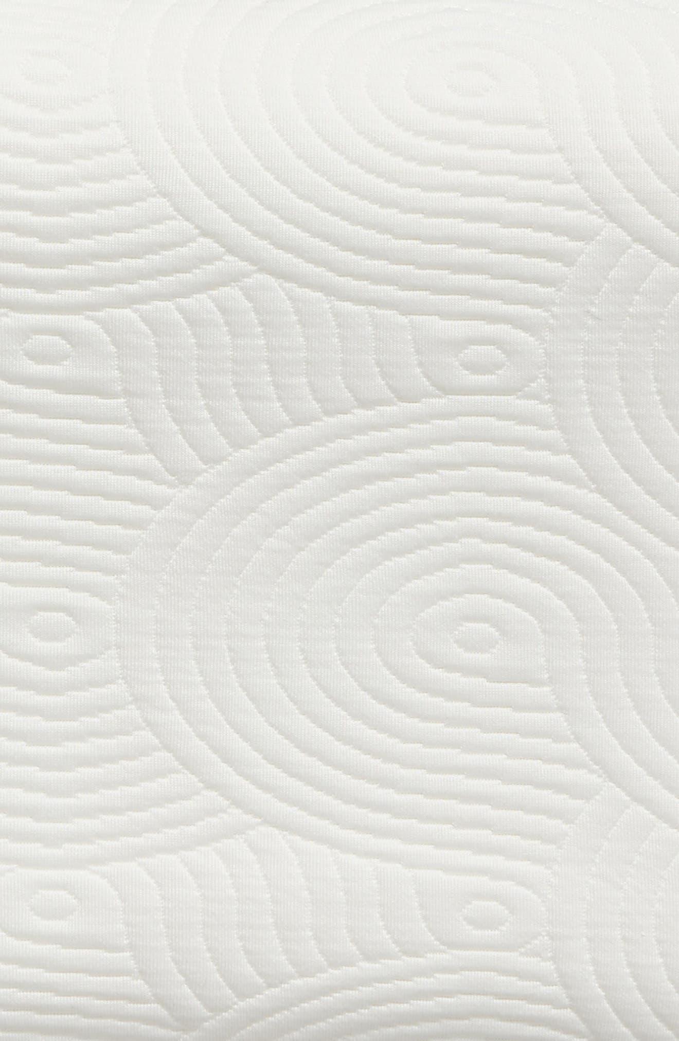 TEMPUR-Contour Side-to-Side Pillow,                             Alternate thumbnail 4, color,                             White