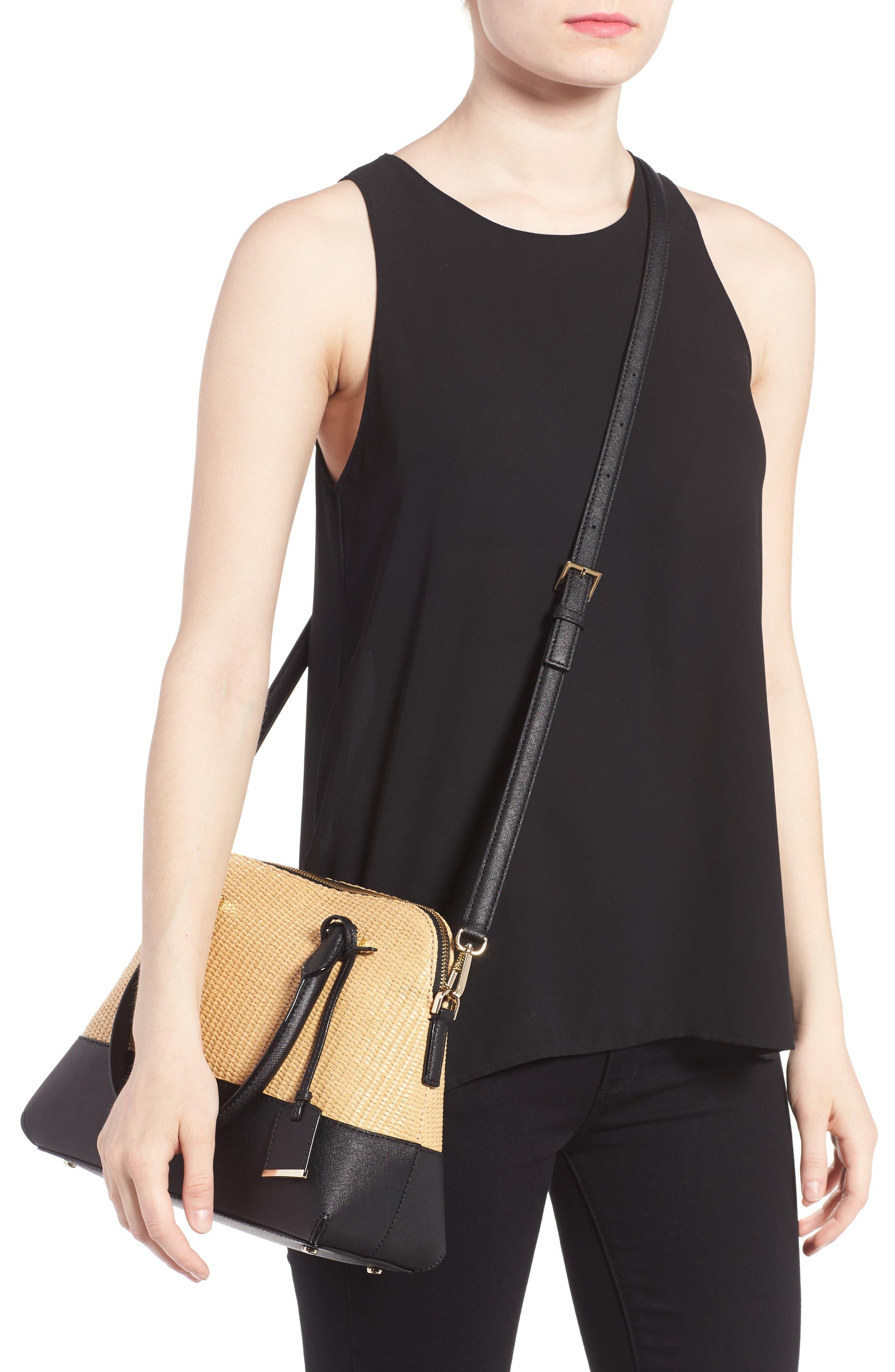 Alternate Image 2  - kate spade new york cameron street straw - maise satchel