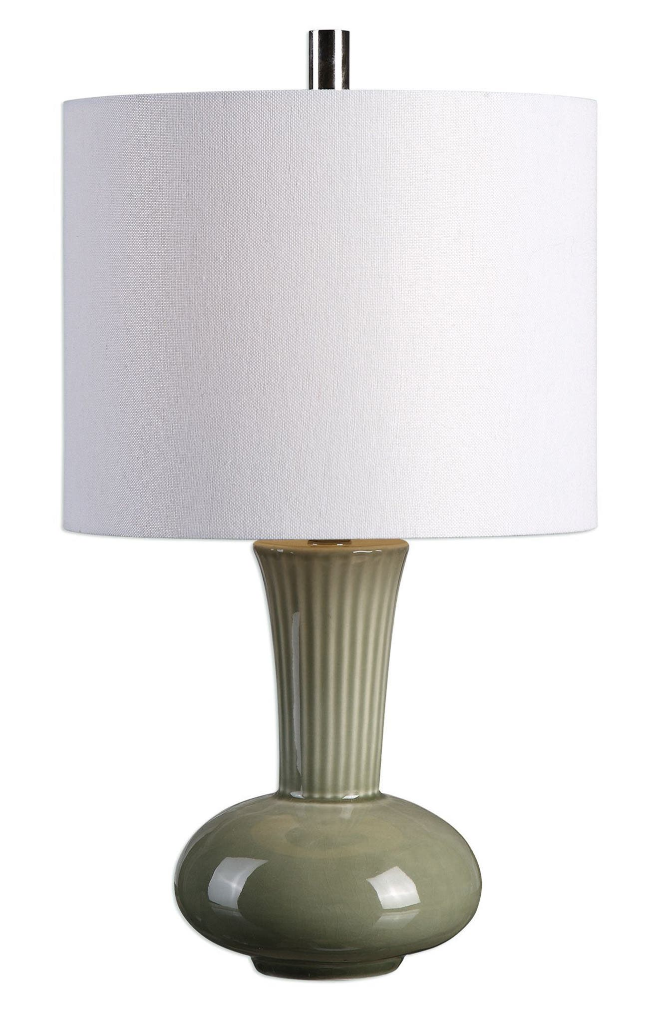 Luray Table Lamp,                         Main,                         color, Green