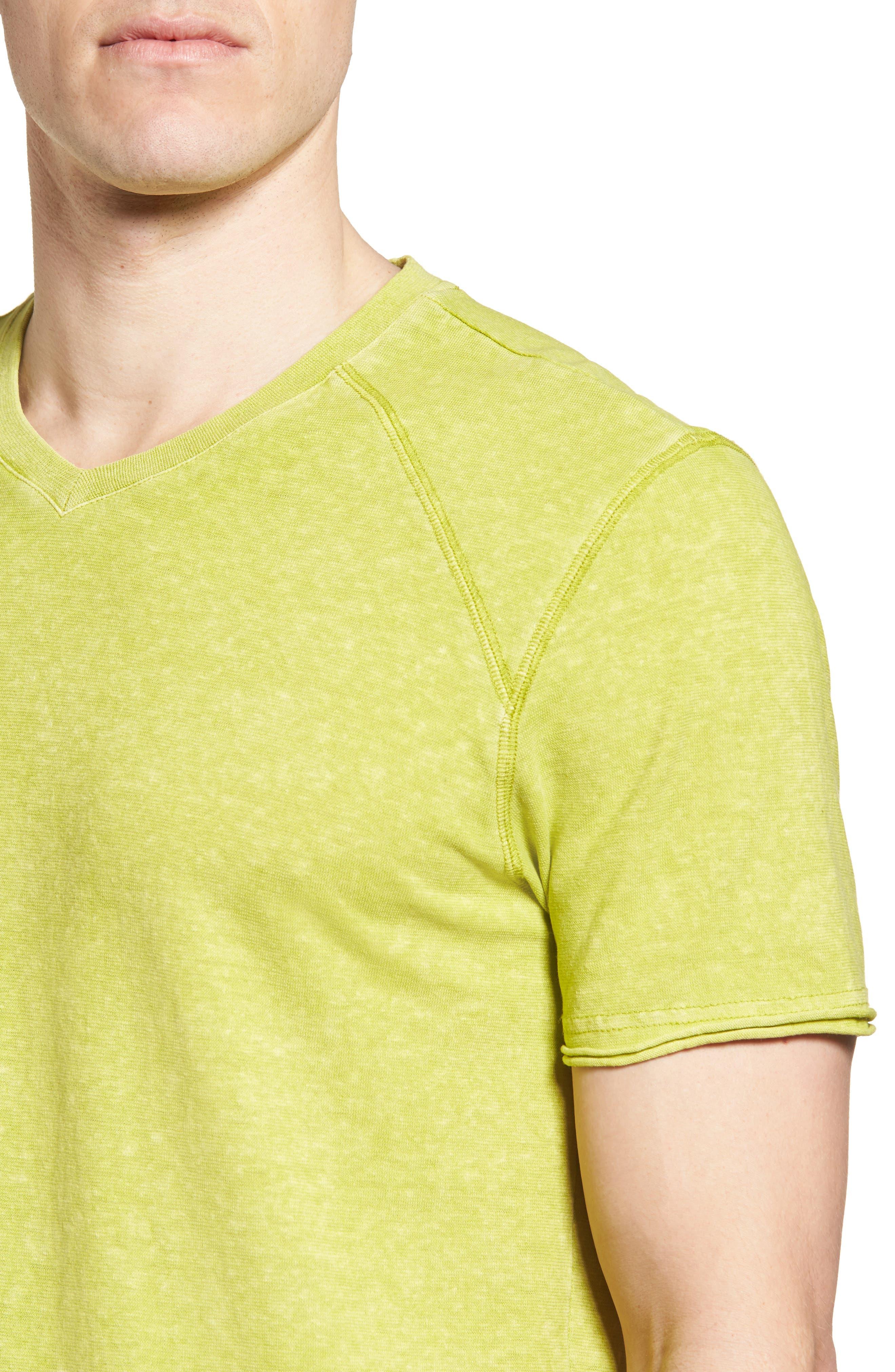 Camura T-Shirt,                             Alternate thumbnail 4, color,                             Olive Leaf