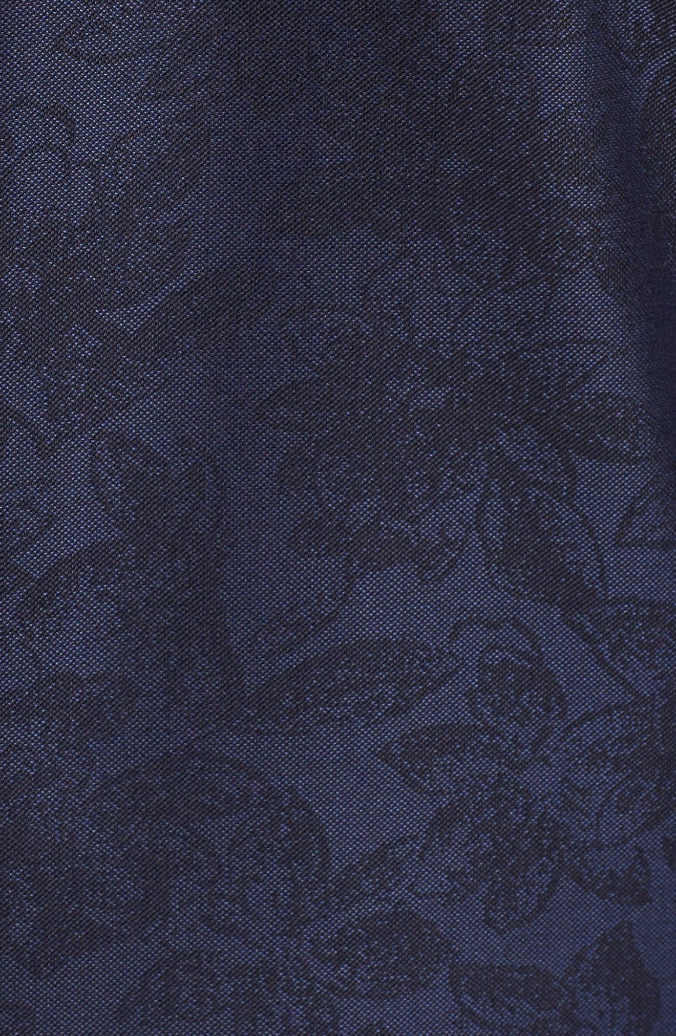 Alternate Image 5  - Samuelsohn Classic Fit Wool & Cotton Dinner Jacket