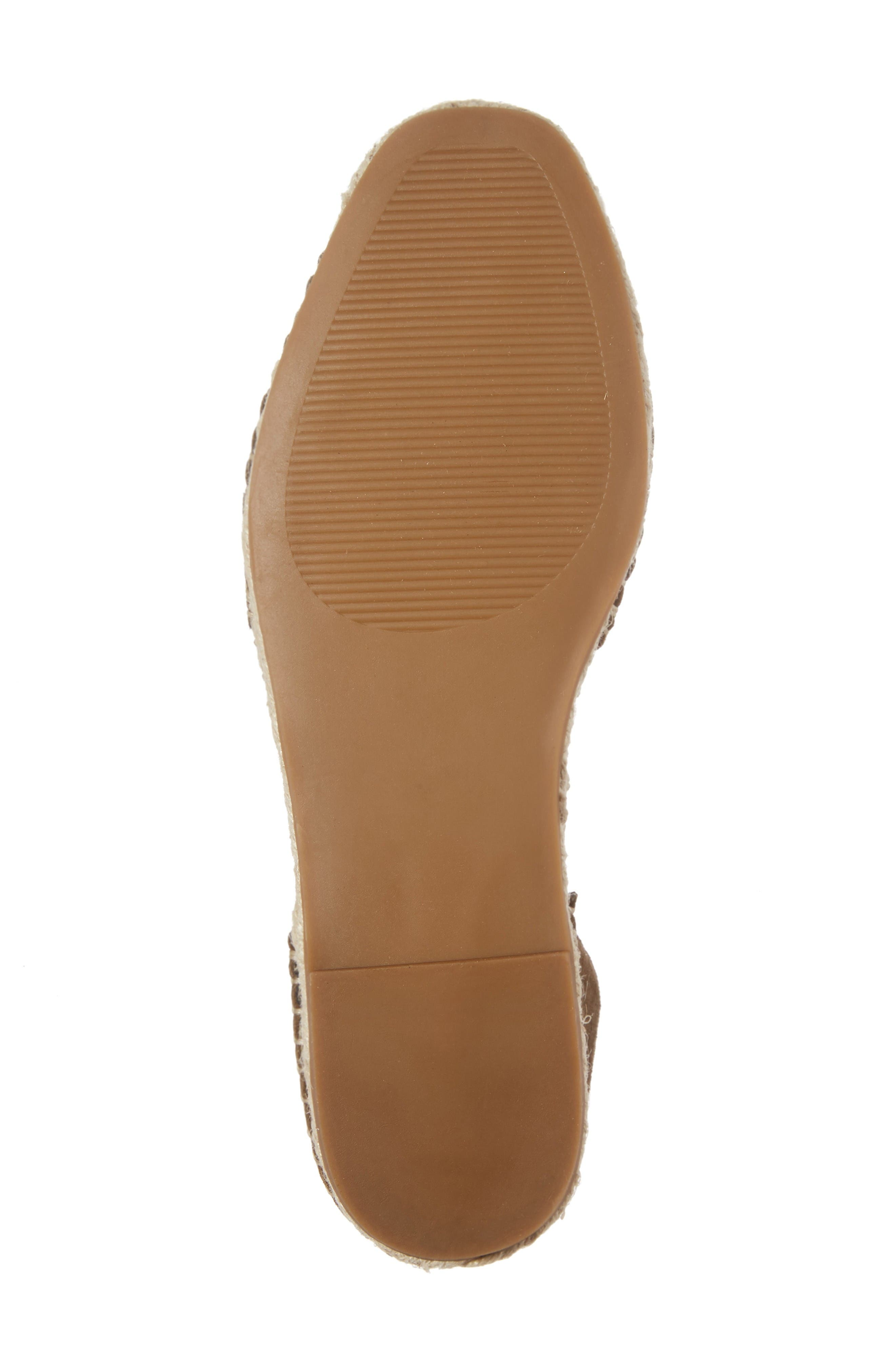 Alternate Image 5  - Steve Madden Rosette Ankle Wrap Espadrille Flat (Women)