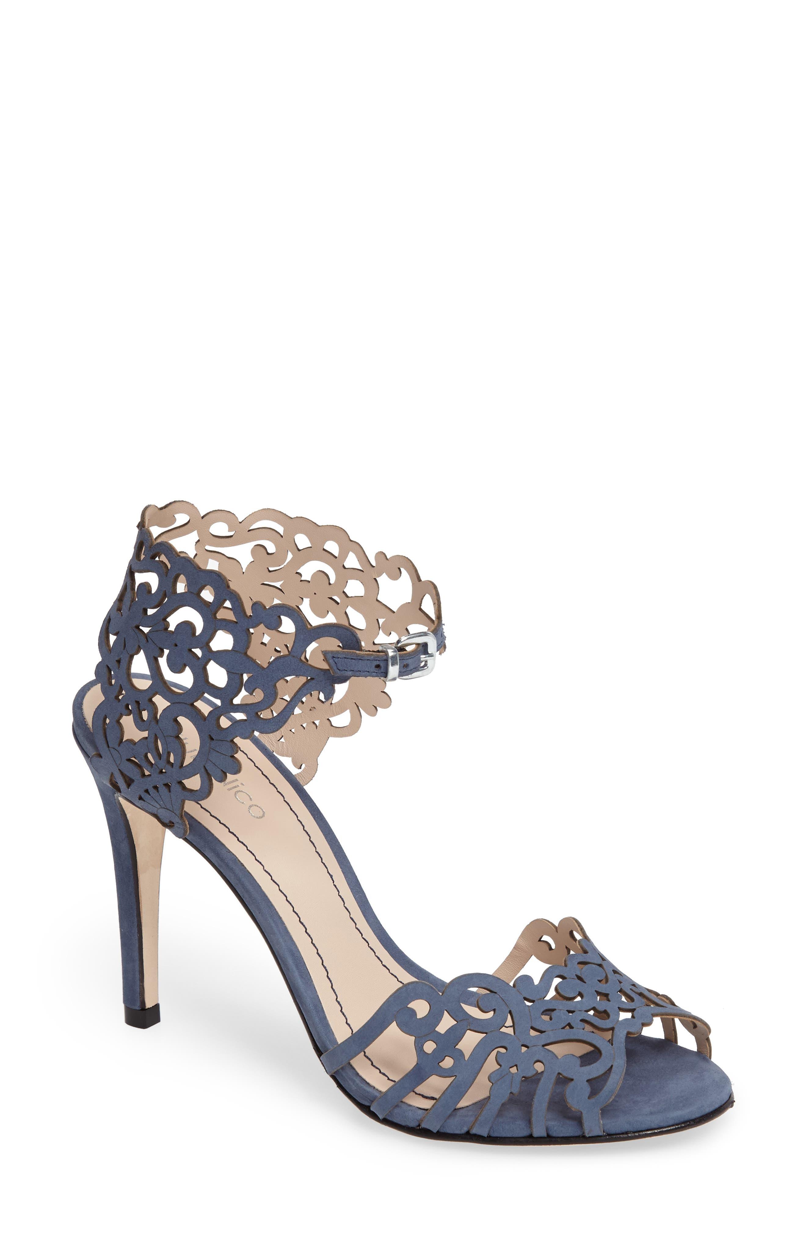 Alternate Image 1 Selected - Klub Nico 'Moxie' Laser Cutout Sandal (Women)