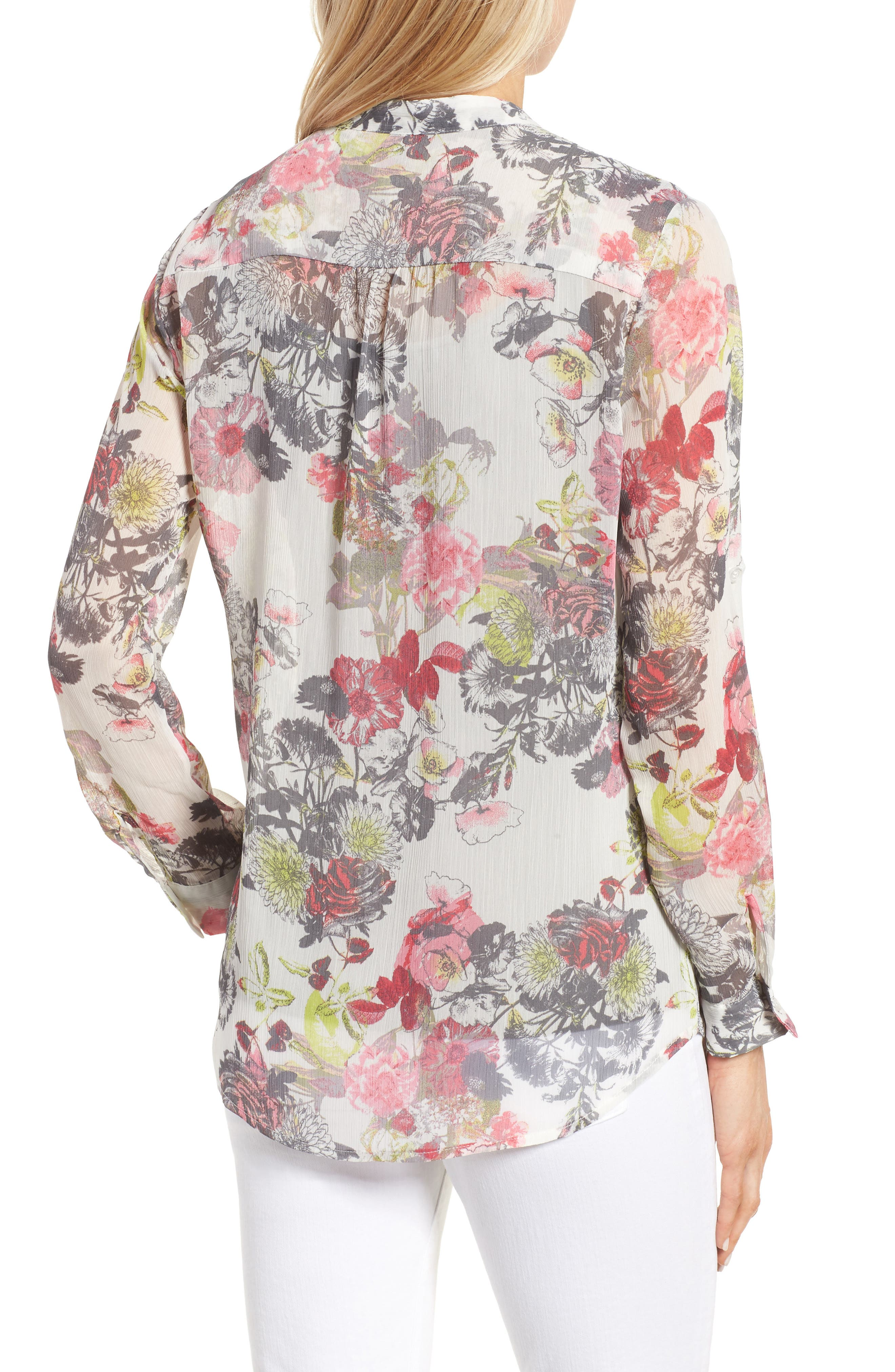 Alternate Image 2  - KUT from the Kloth Floral Print Blouse