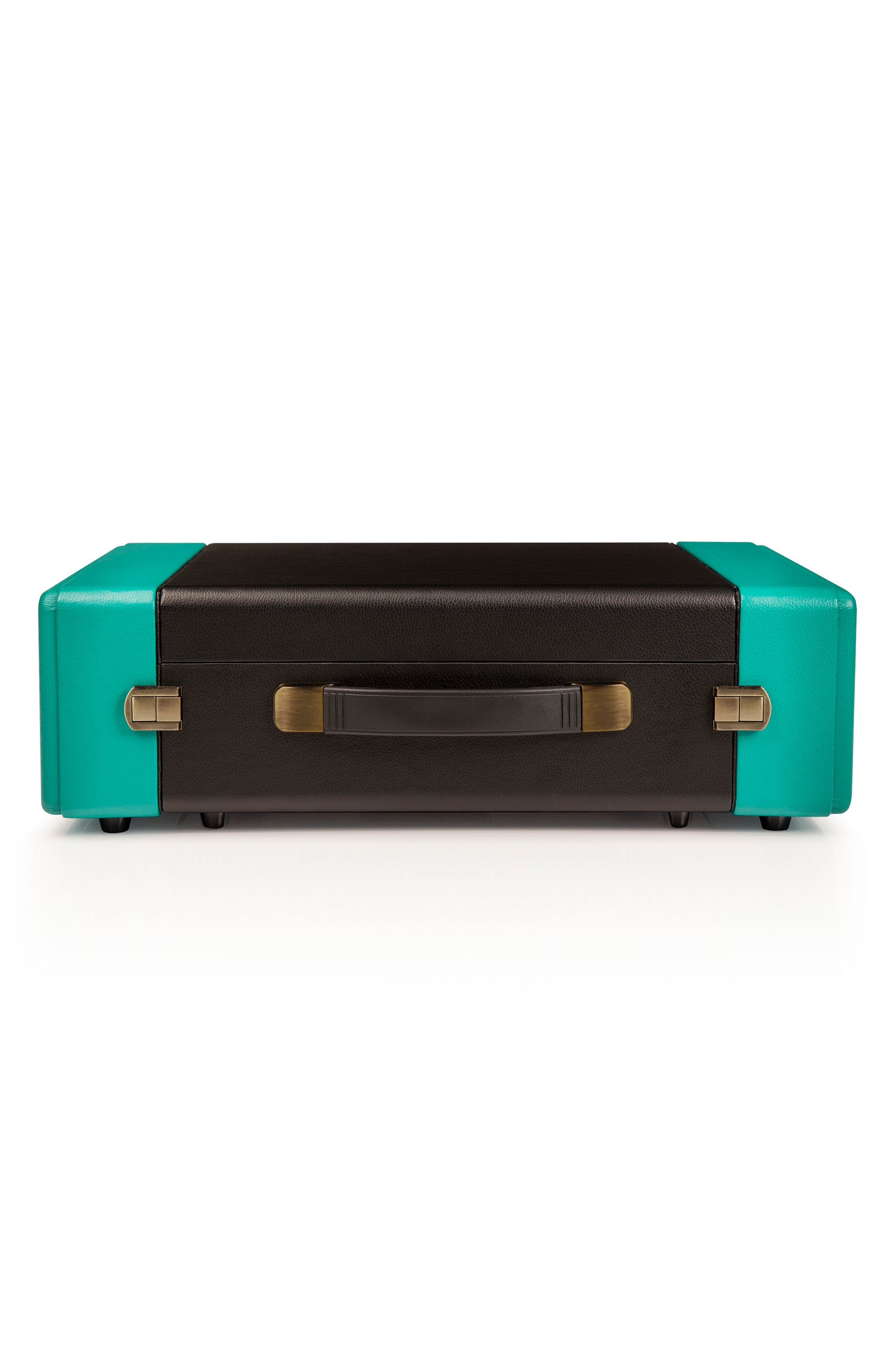 Snap Turntable,                             Alternate thumbnail 3, color,                             Turquoise