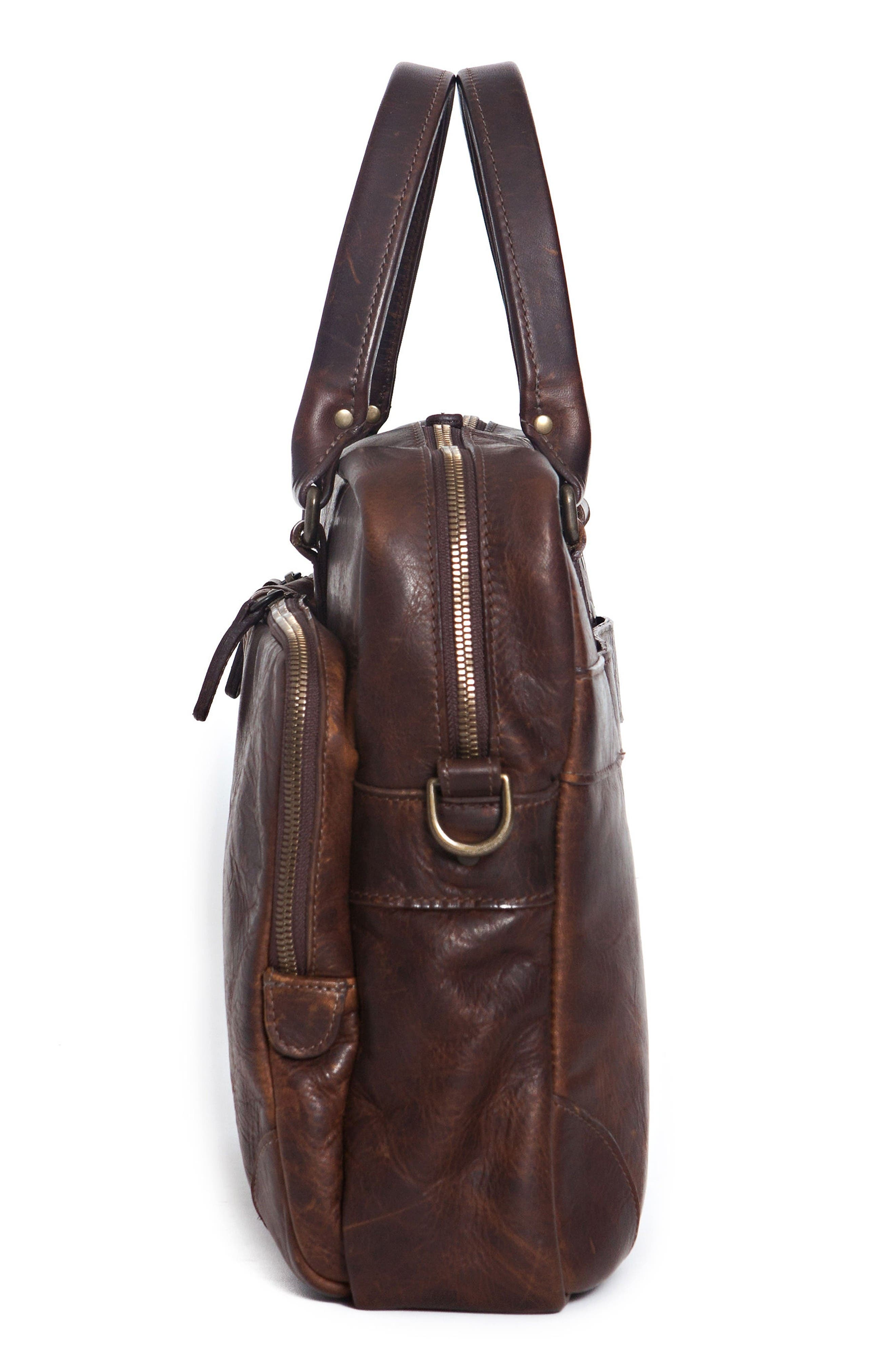 Alternate Image 9  - Moore & Giles Haythe Leather Briefcase