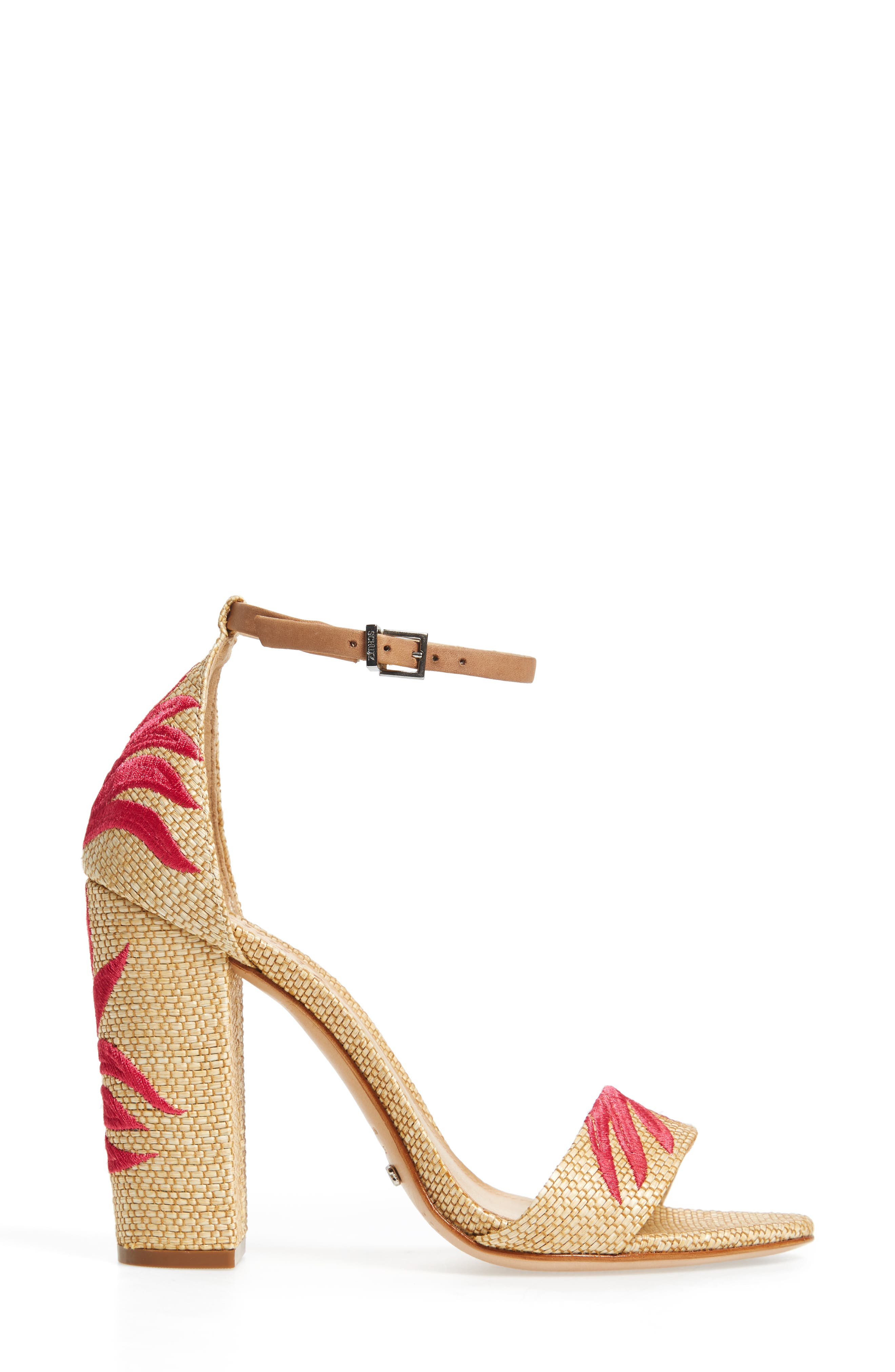 Alternate Image 3  - Schutz Carolaine Woven Sandal (Women)