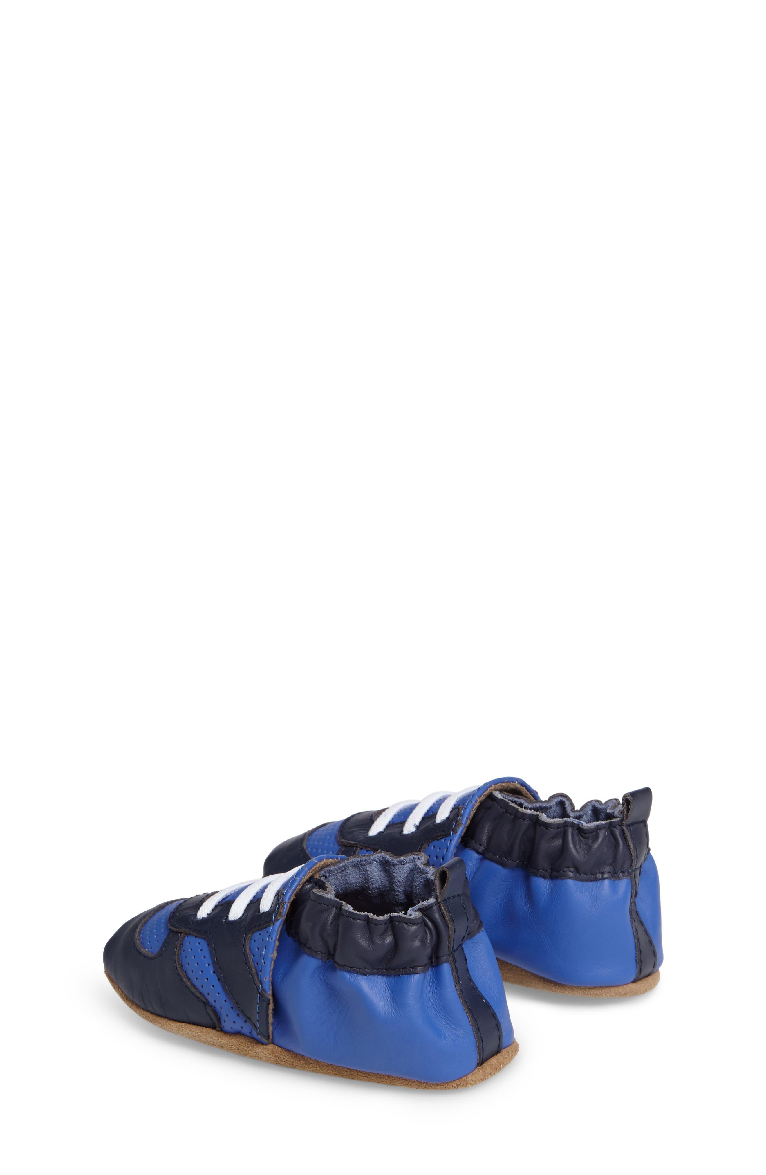 Alternate Image 2  - Robeez® 'Super Sporty' Crib Shoe (Baby & Walker)