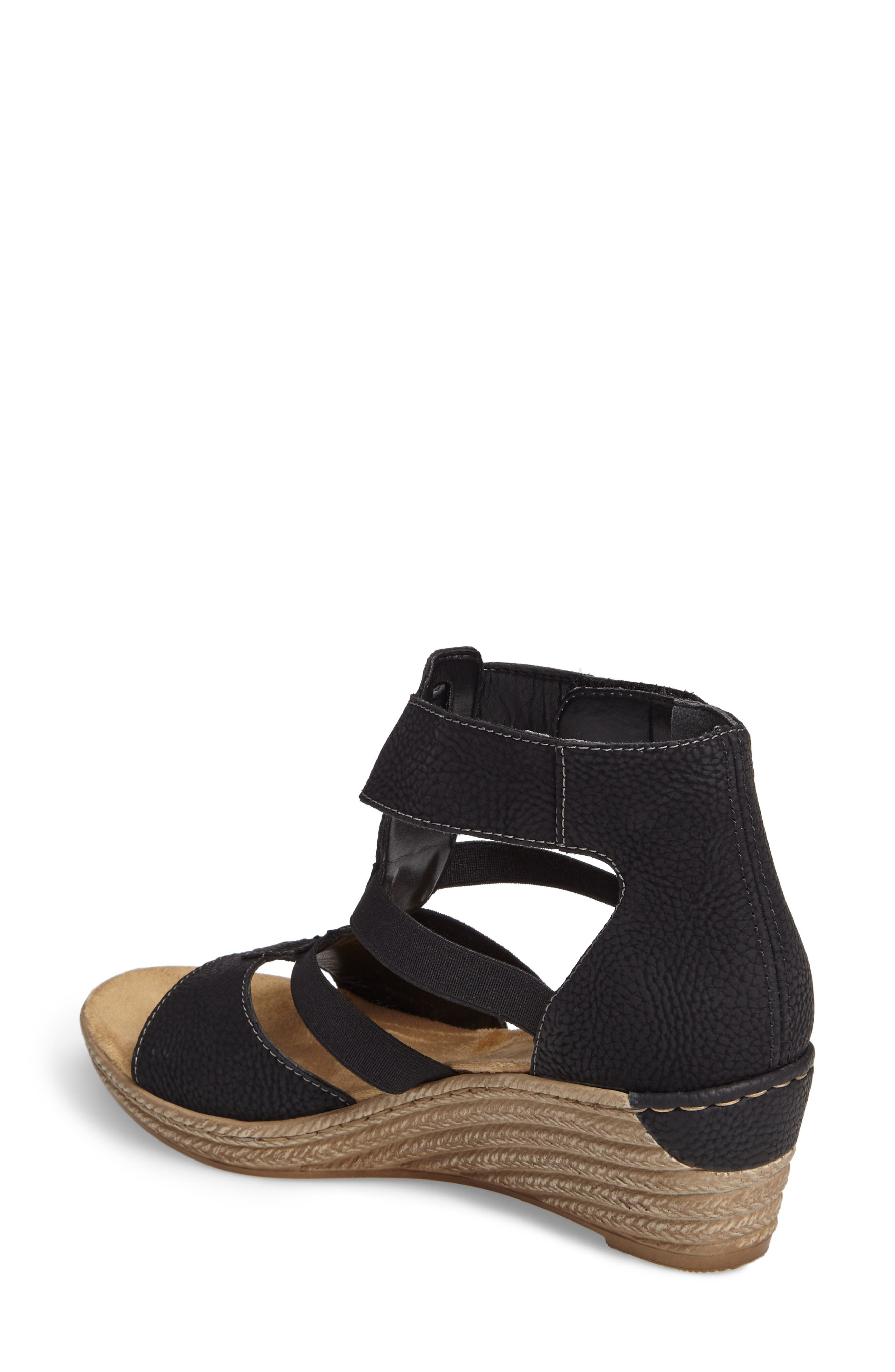 Alternate Image 2  - Rieker Antistress Fanni 39 Wedge Sandal (Women)