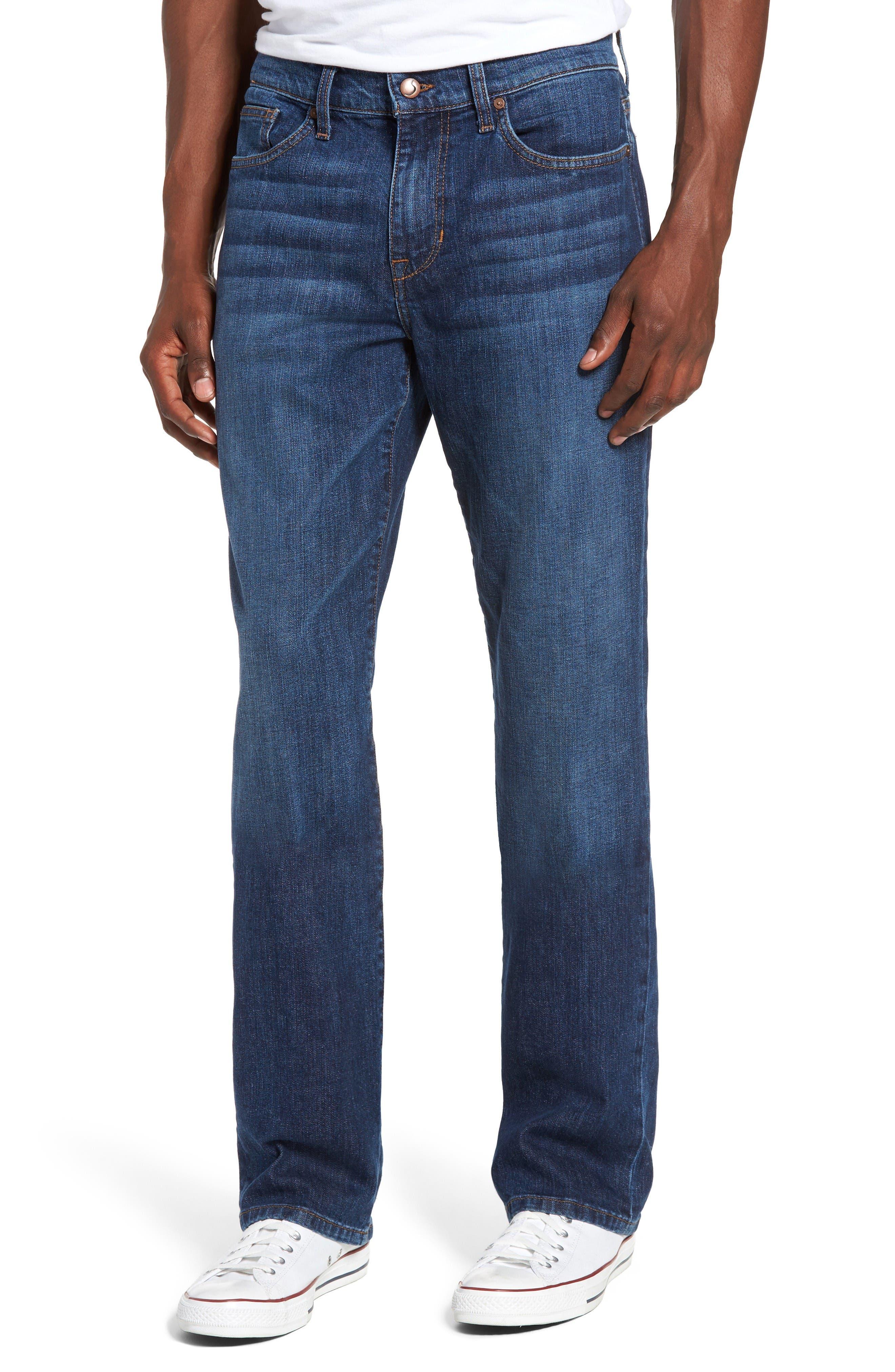 Classic Straight Fit Jeans,                             Main thumbnail 1, color,                             Drexler