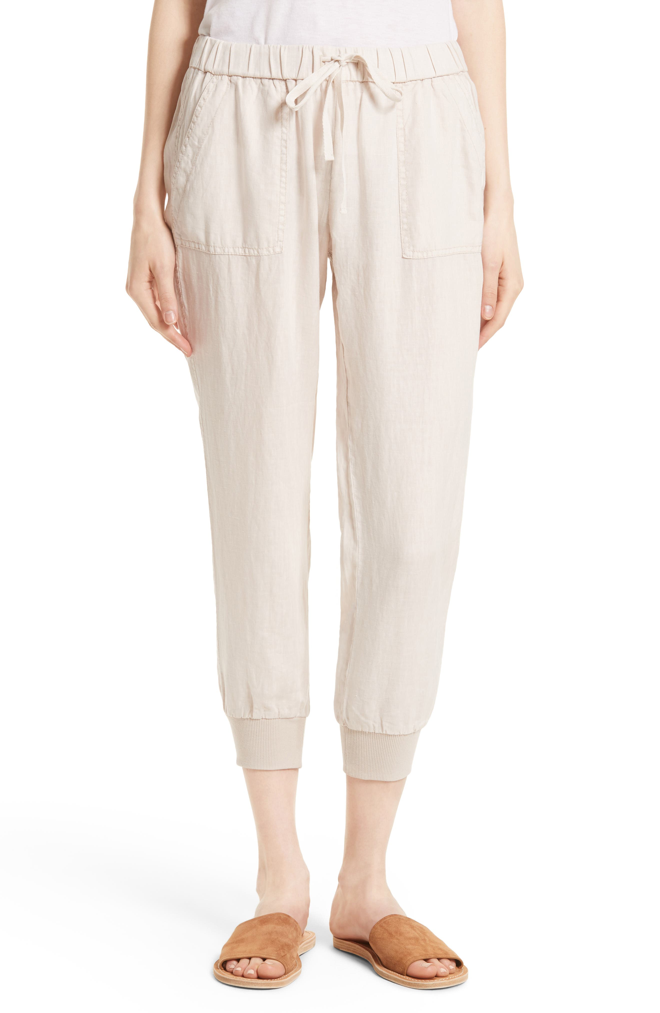 Alternate Image 1 Selected - Joie Cyntia Linen Pants