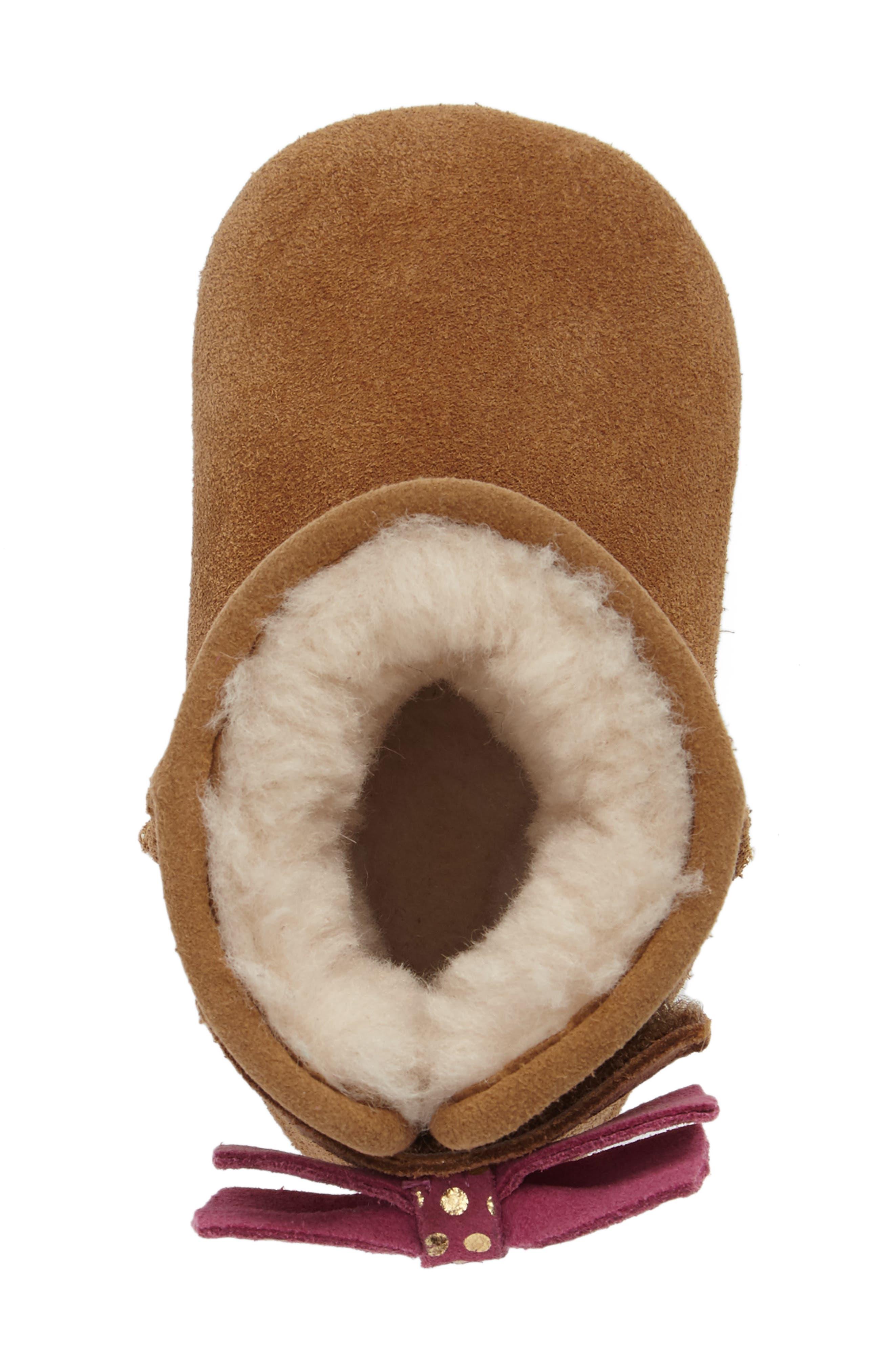 Alternate Image 5  - UGG® Jesse Bow II Dots Boot (Baby & Walker)