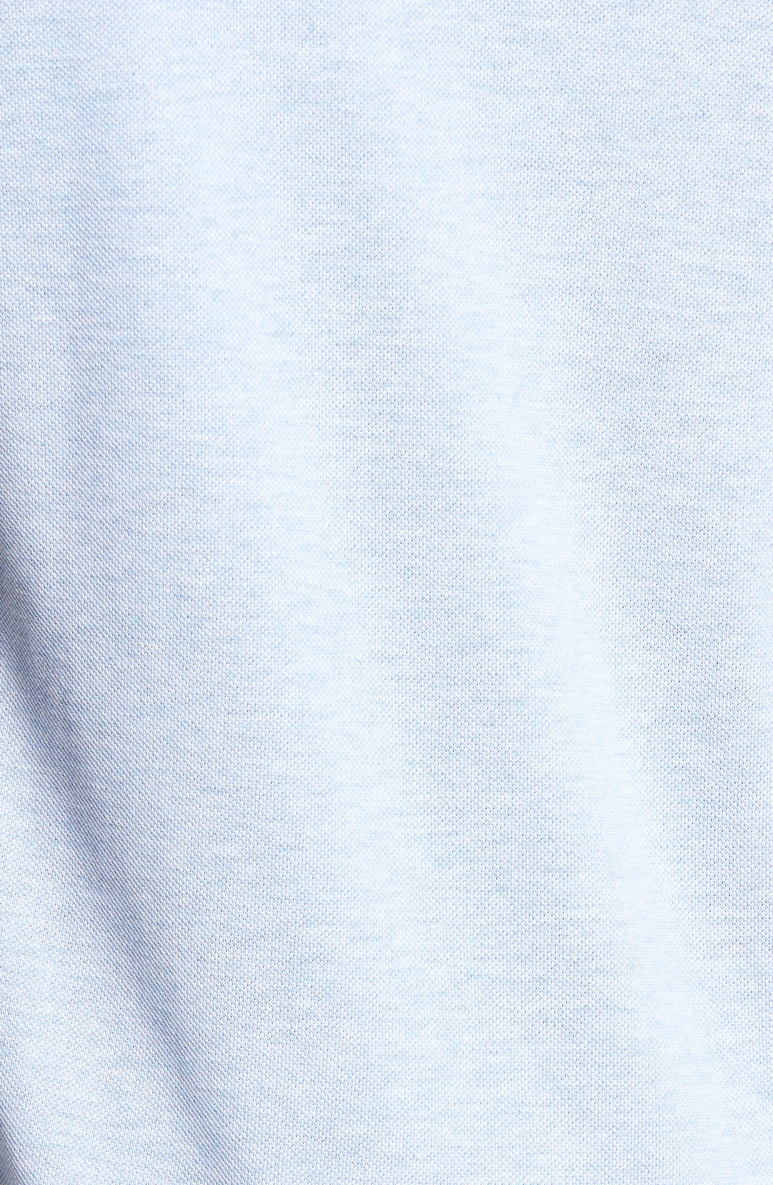 Alternate Image 5  - Lacoste 'White Croc' Regular Fit Piqué Polo (Nordstrom Exclusive)