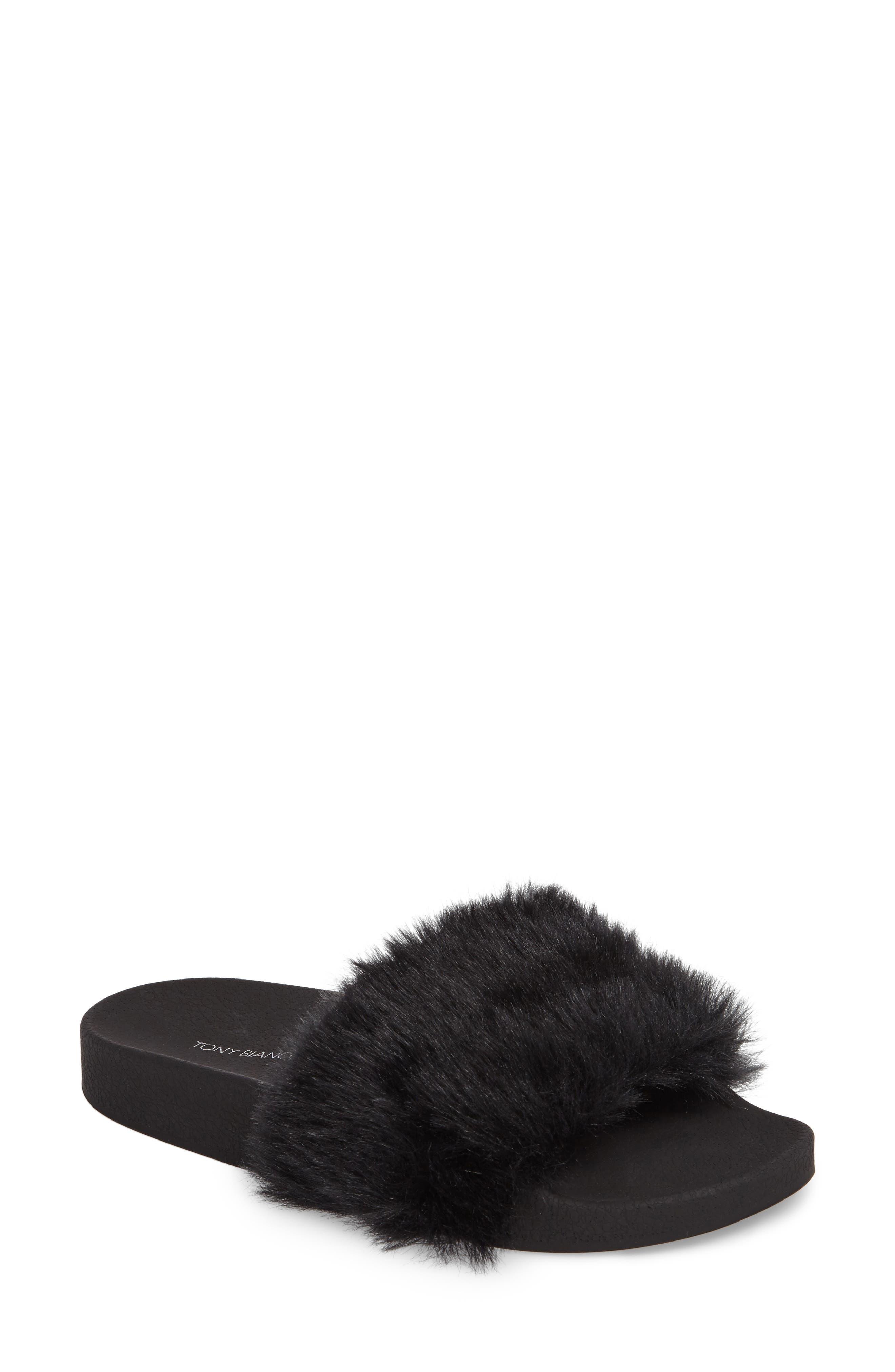Alternate Image 1 Selected - Tony Bianco Vixen Slide Sandal (Women)