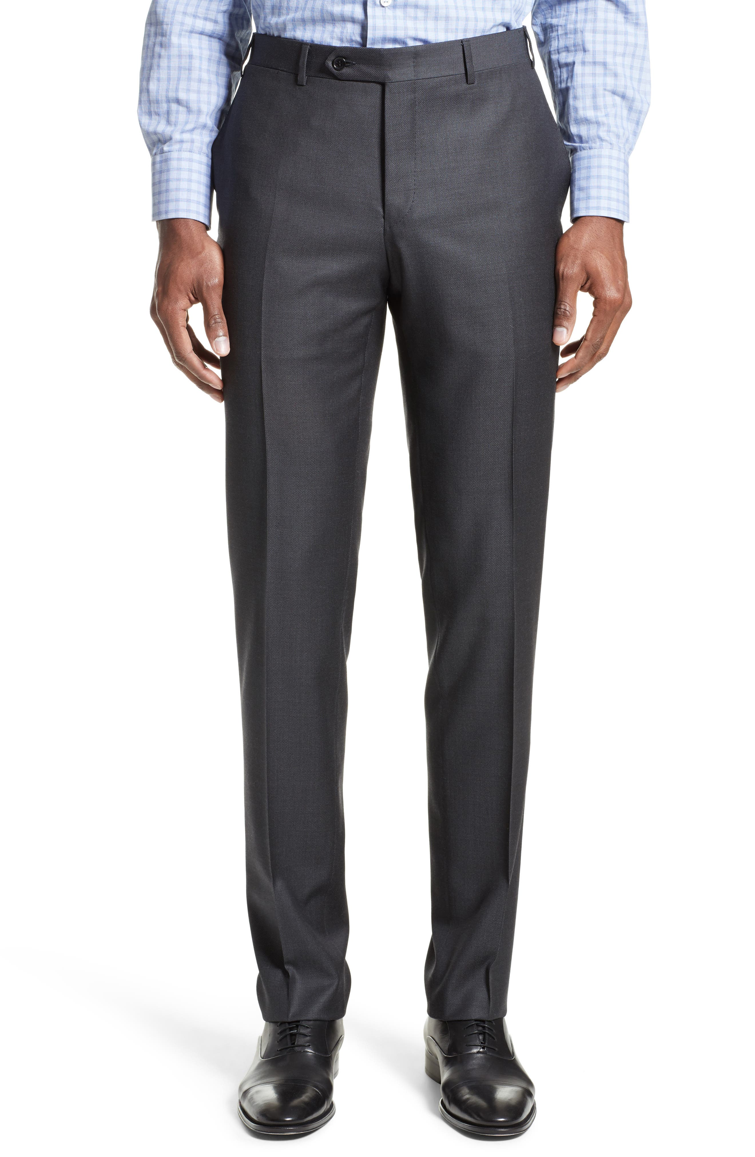 Alternate Image 6  - Canali Classic Fit Solid Wool Suit