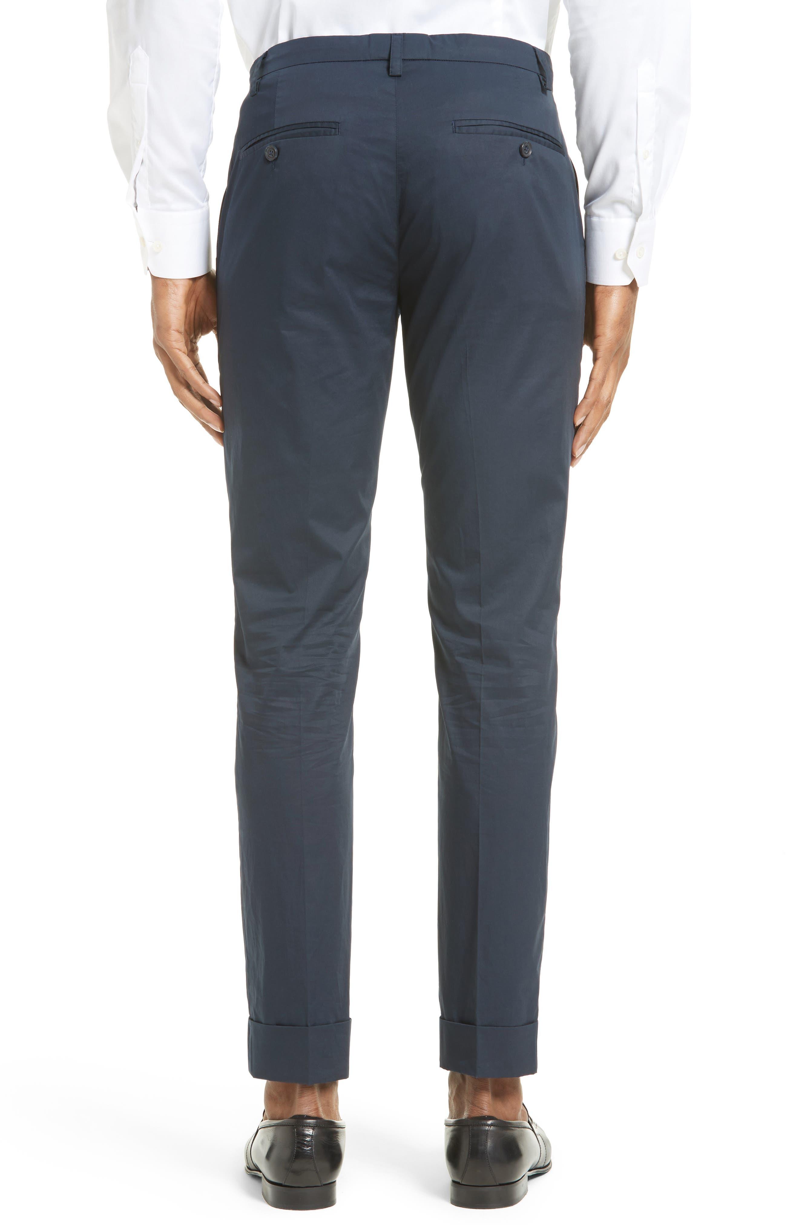 Alternate Image 2  - ATM Anthony Thomas Melillo Cuffed Cotton Poplin Pants