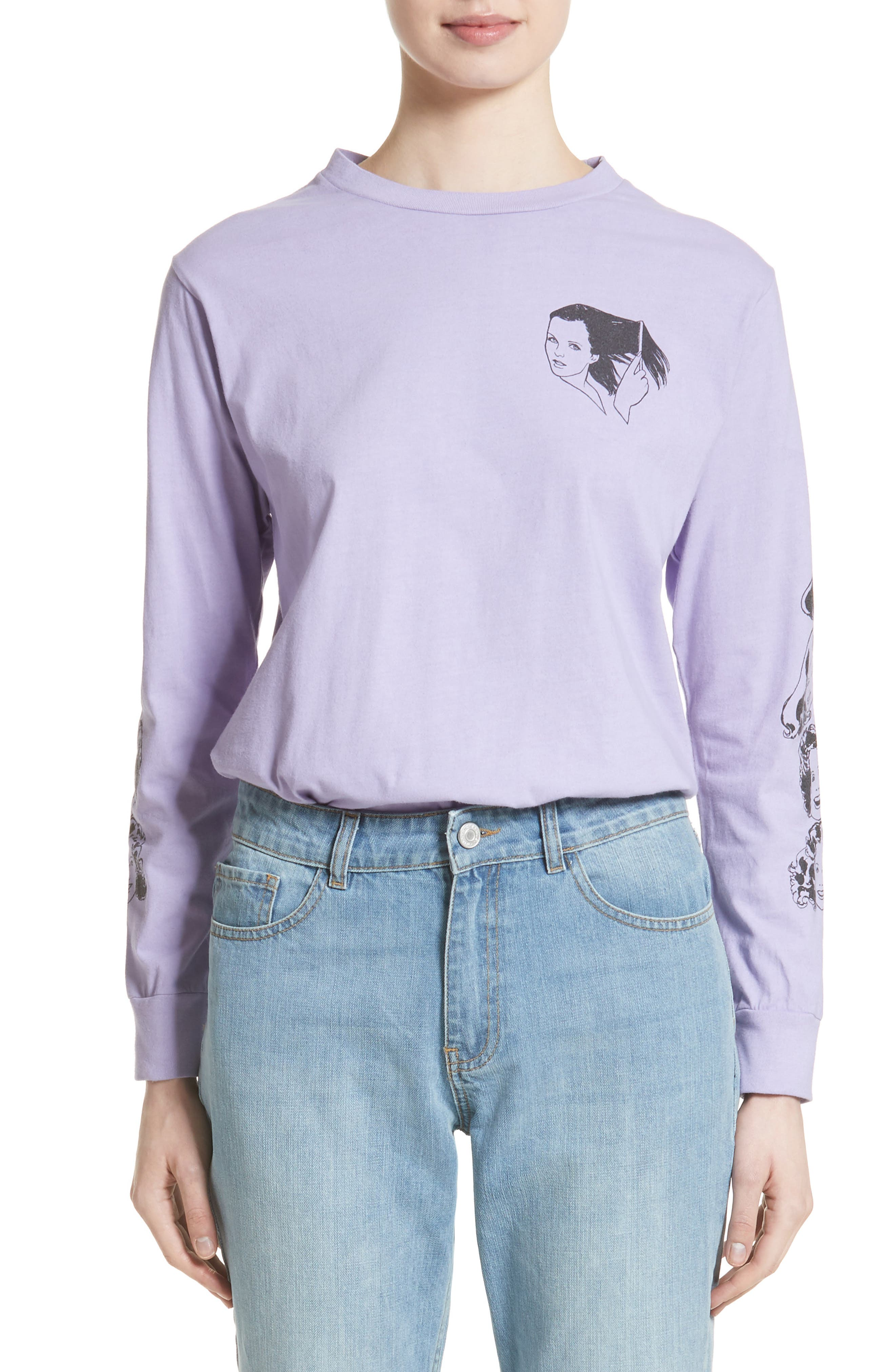 Ashley Williams Graphic Tee (Nordstrom Exclusive)
