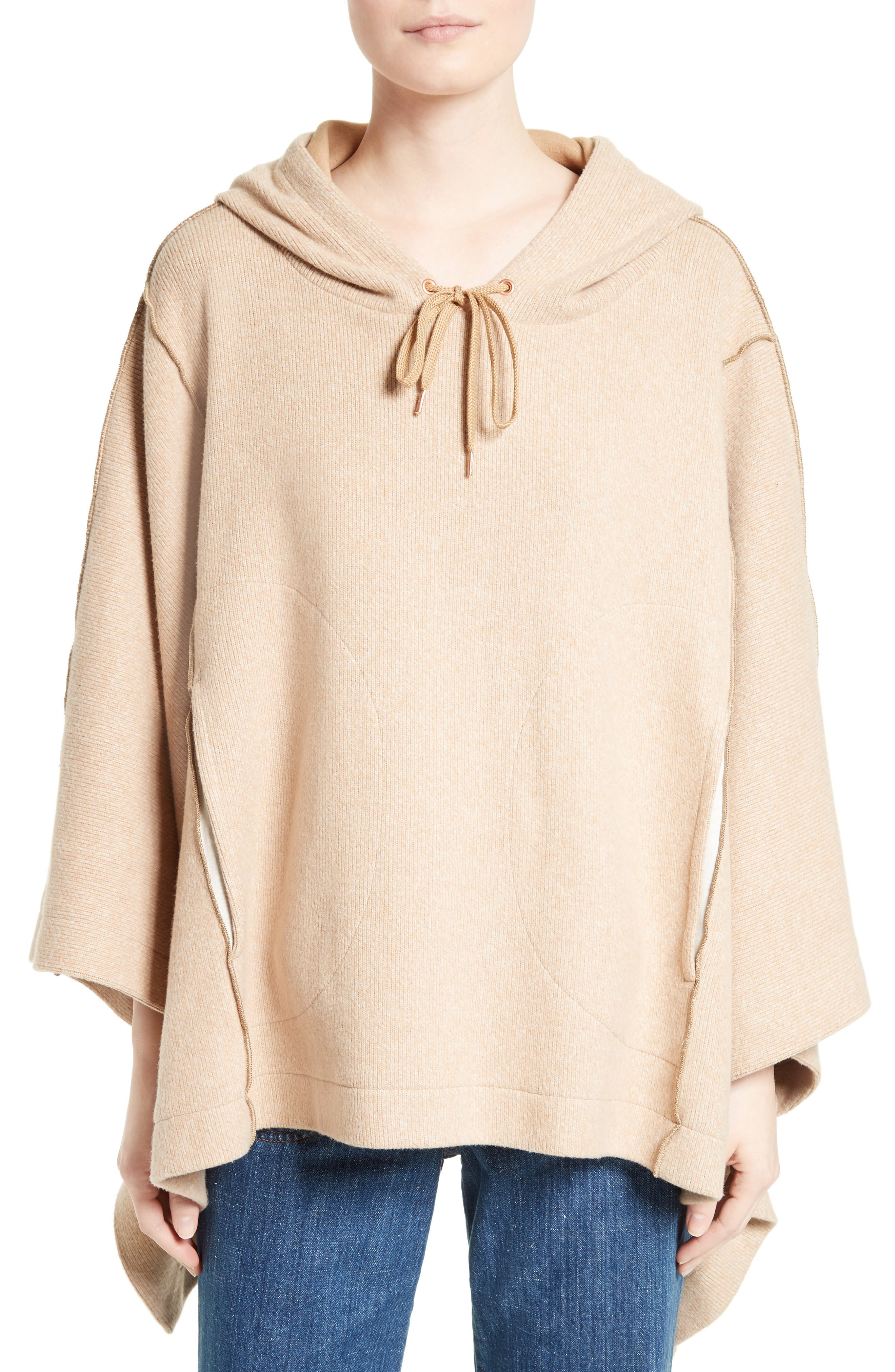 SEE BY CHLOÉ Cotton Blend Poncho