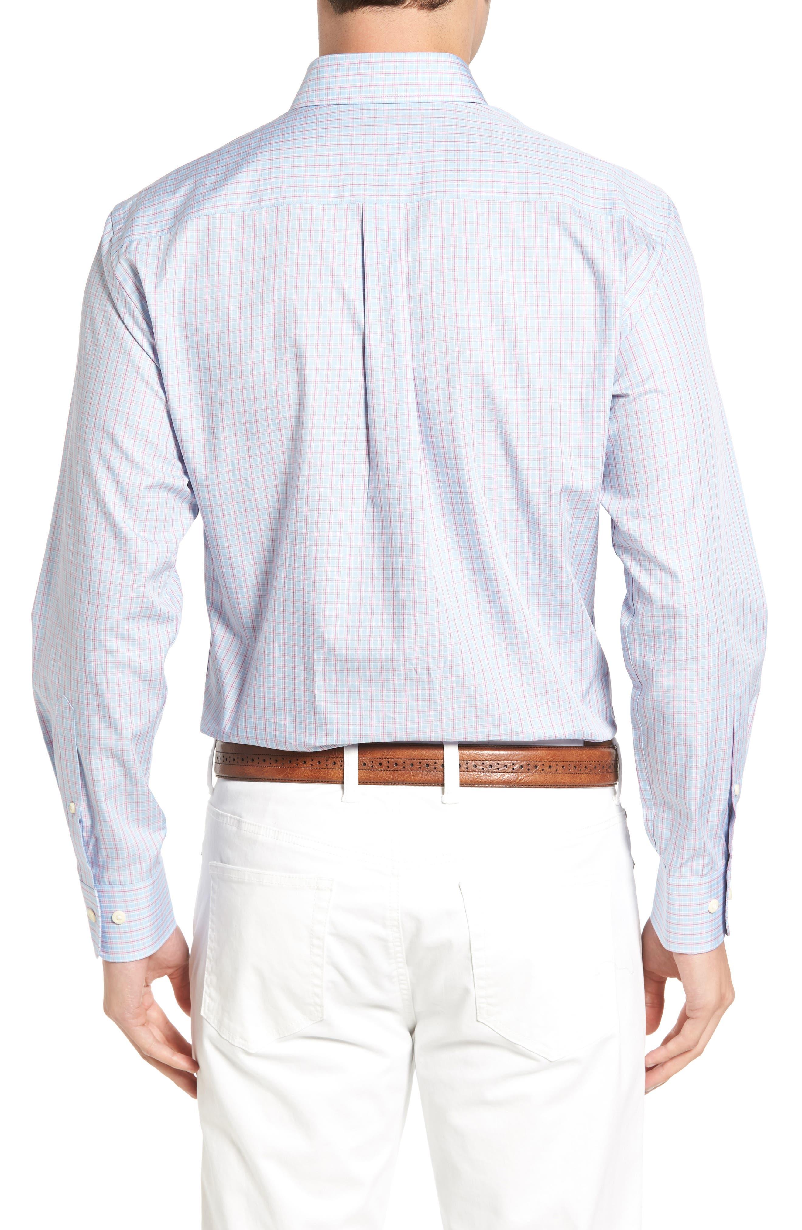 Alternate Image 2  - Peter Millar Temple Regular Fit Check Sport Shirt