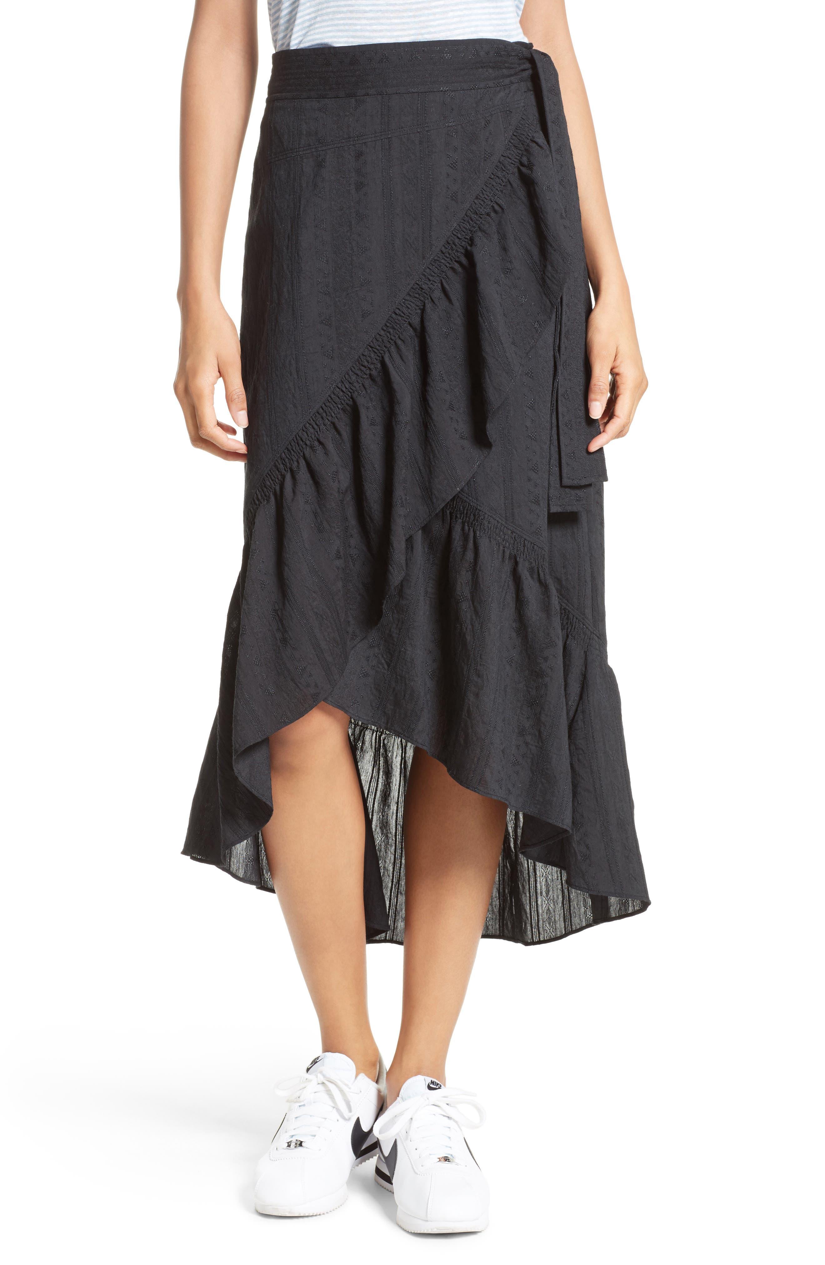 A.L.C. Charmaine Ruffle Skirt